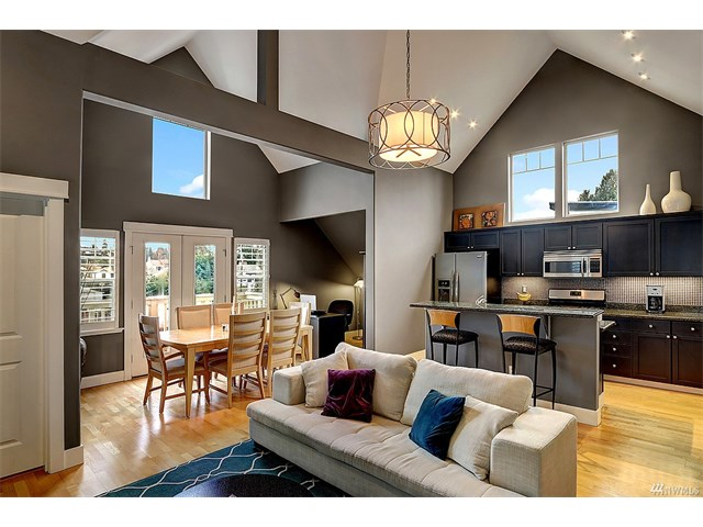 Buying: 5907 40th Ave SW #C, Seattle | List Price: $479,500 | Sold Price: $481,000