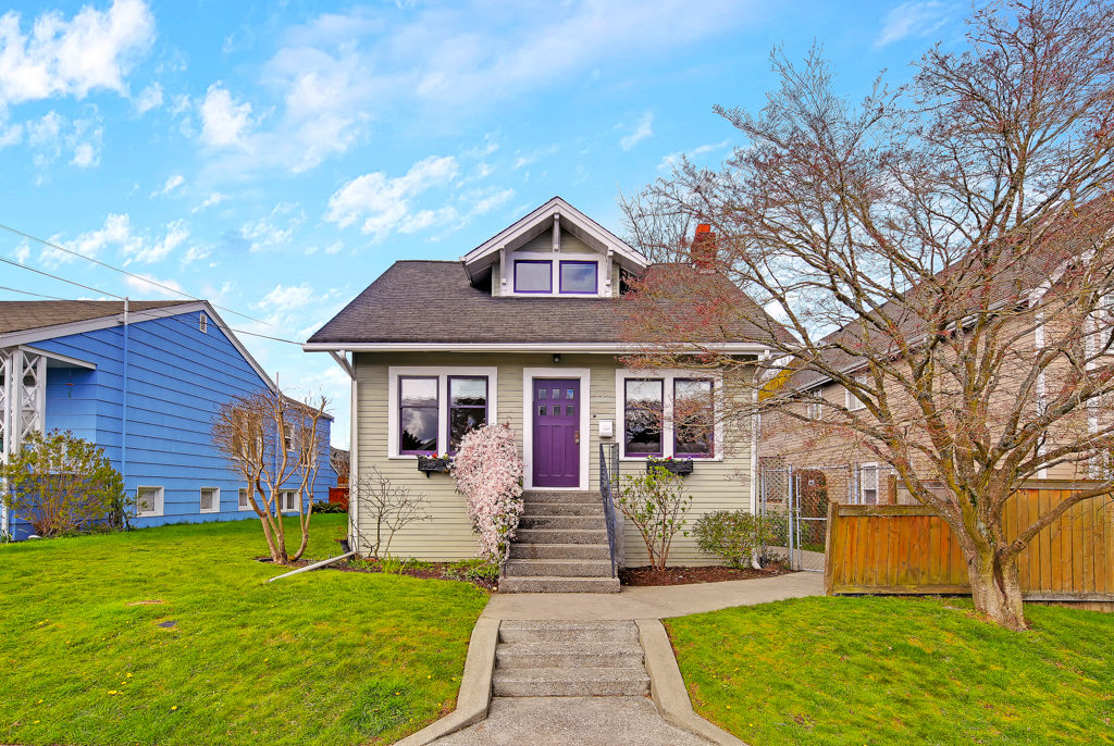 Listing: 3207 Walnut Ave SW, Seattle | List Price: $730,000 | Sold Price: $807,200