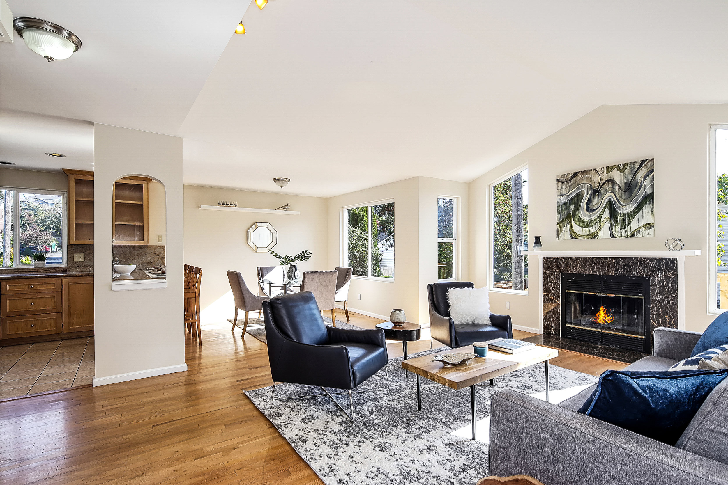 Listing: 1508 SW Webster #B, Seattle | List Price $550,000 | Sold Price $545,000