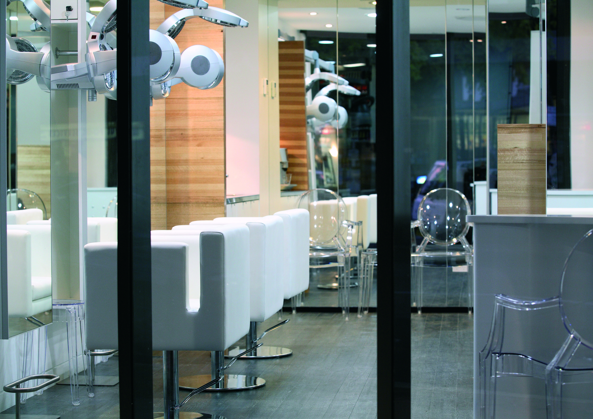 Eva Hair care salon inside