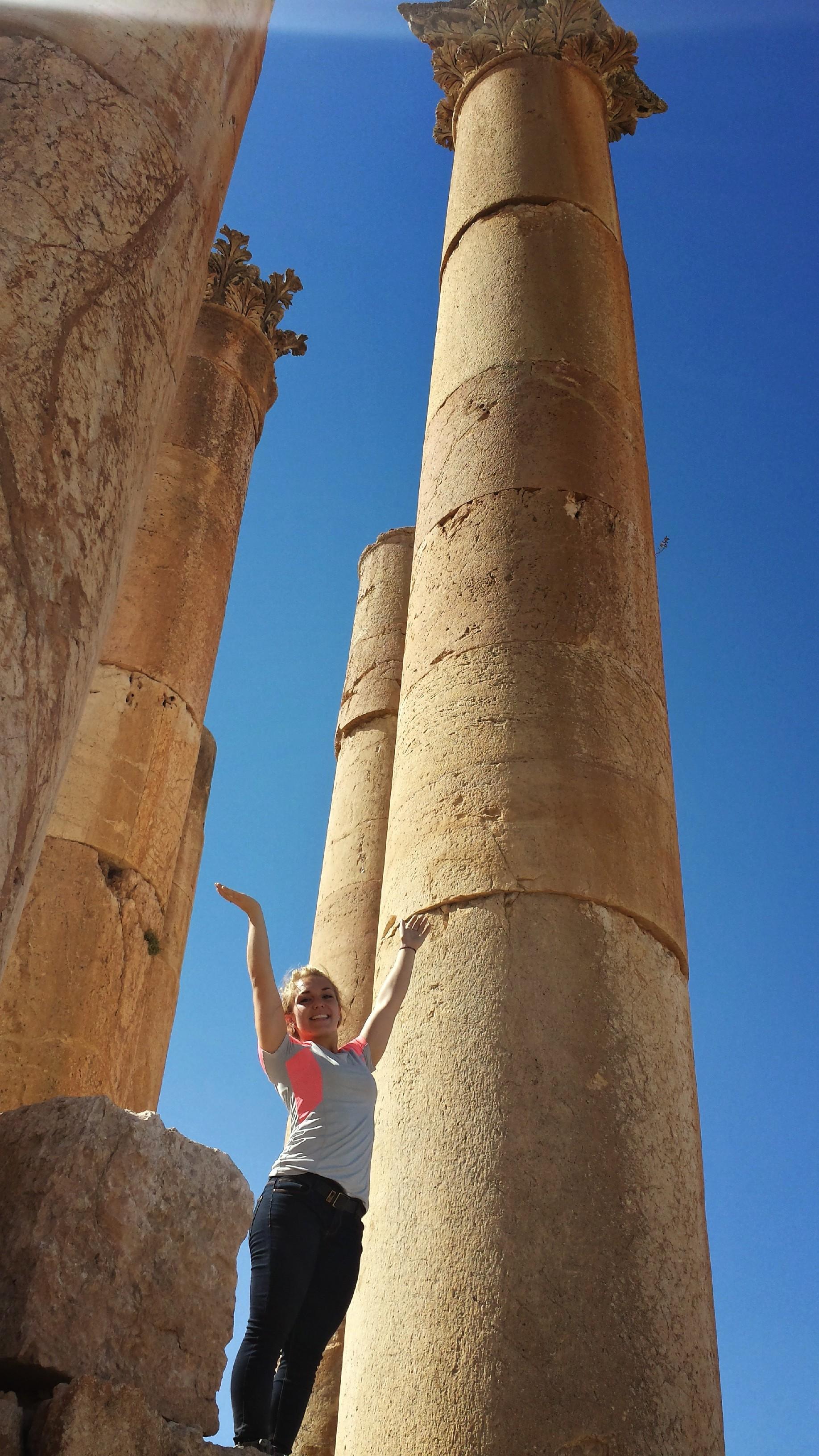 Jerash, Jordan, Summer 2014