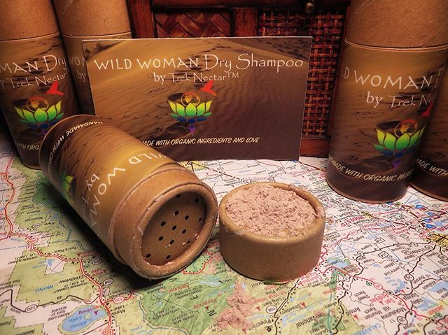 Wild Women! 🌞We've got your unwashed, mountain hair covered with our new Dry Shampoo. Handmade with Organic ingredients and 💚. Of course, it's #zerowaste because the container is biodegradable, compostable, or can be recycled. ♻️ Each purchase donating to one of three philanthropic causes. 🤝Available for purchase on TrekNectar.com and Facebook soon! . . . . . . #greenliving #travelfit #fittravel #travelyoga #zerowasteliving #ethicalfashion #sustainable #sustainablefashion #shetravelsgreen #fitnessgirl #fitness #kopernik #travel #travelgram #travelholic #sheisnotlost #girlslovetravel #womenlovetravel #yogi #yoga #trek #treknectar #supportsmallbusiness #supportwomeninbusiness #ethicallymade #travelblogger #ecofriendly #everydayecofriendly