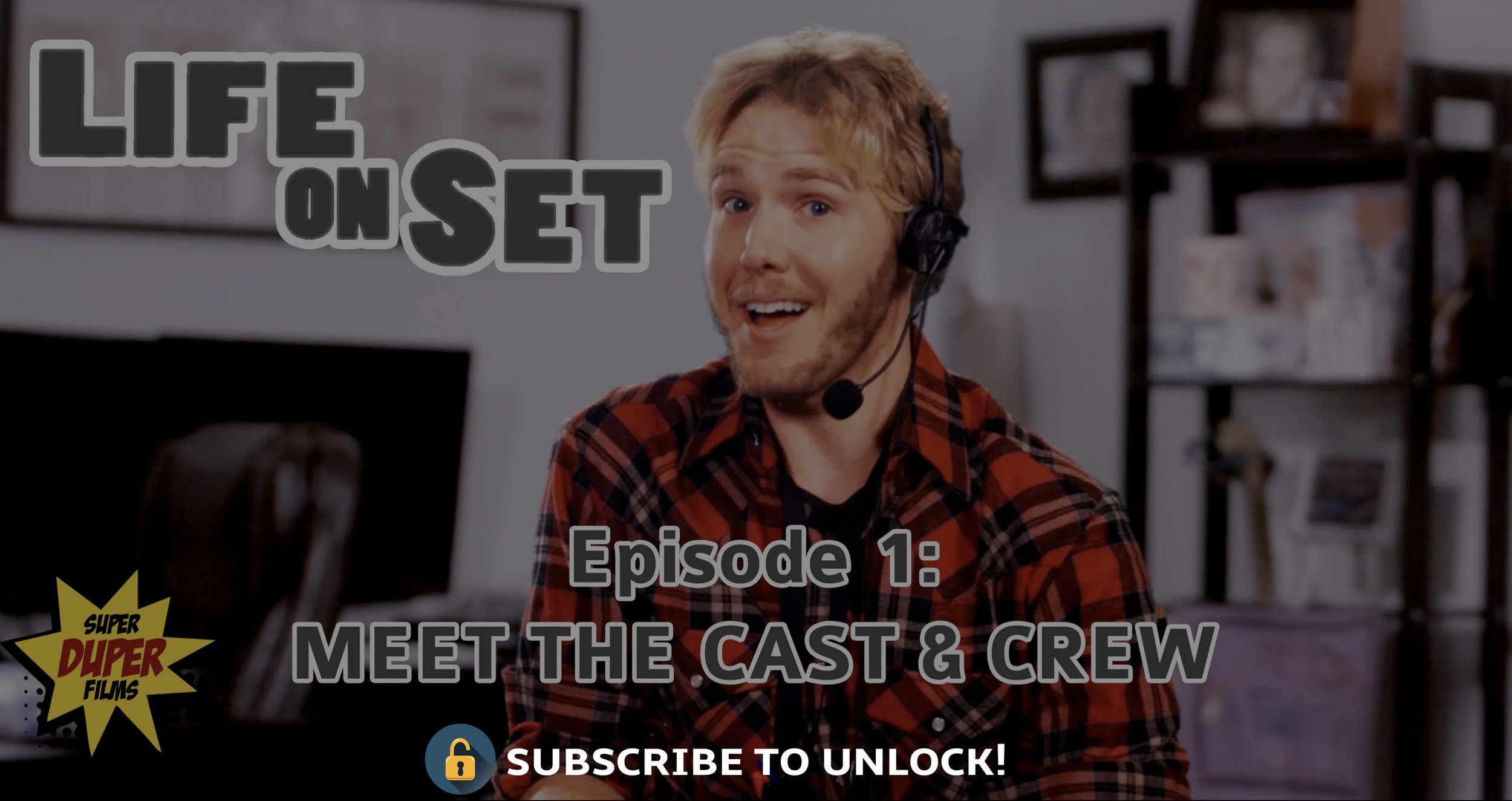 Ep. 1 - We meet the cast and crew and find out their hopes and dreams! (Hint: some may be a little unrealistic)