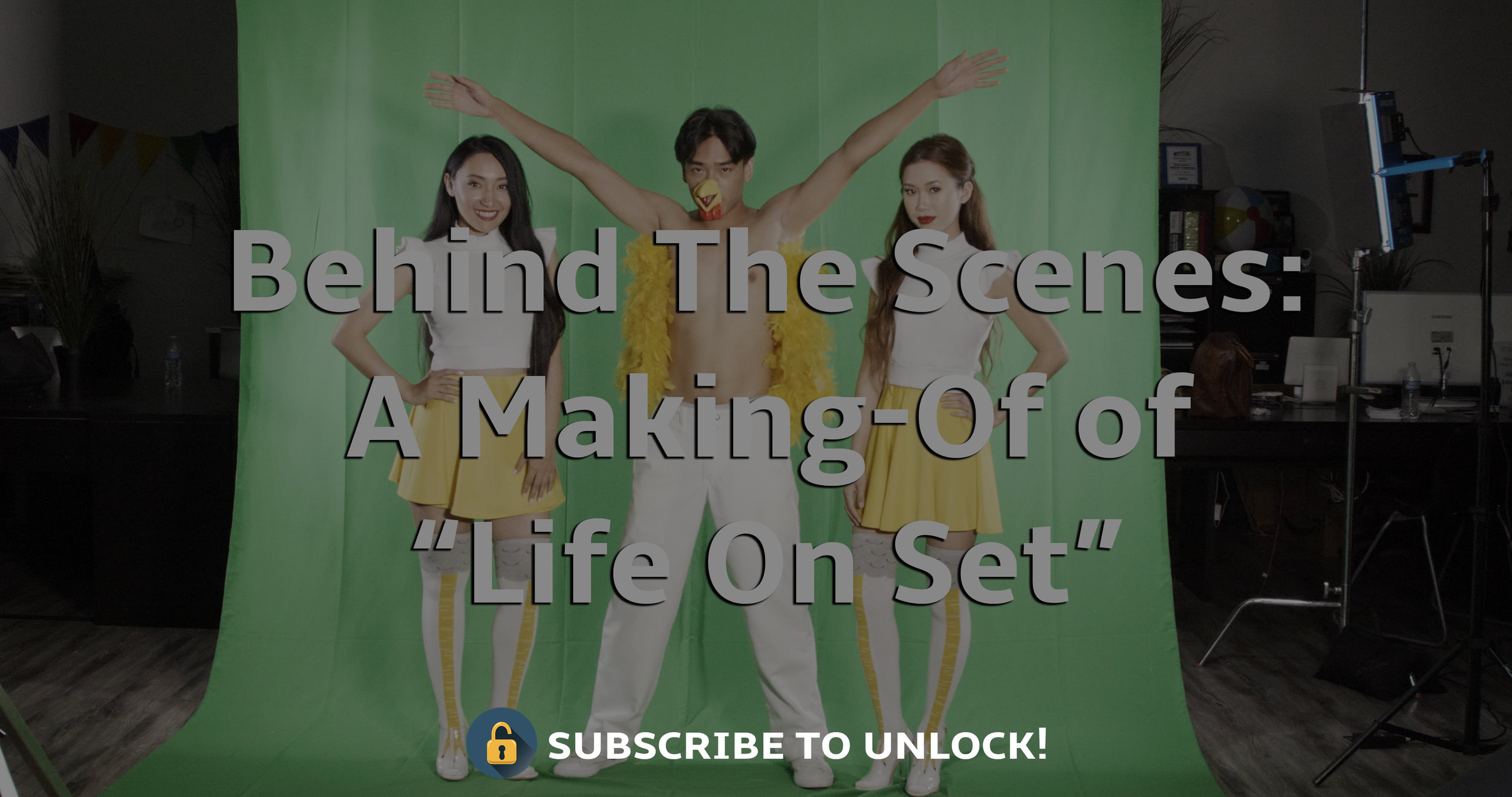 Behind The Scenes: - Watch the hilariously shot making-of of Life On Set with EXCLUSIVE INTERVIEWS with the Director and Cast and everything in between. (hint: Our producer might be a Russian Spy)