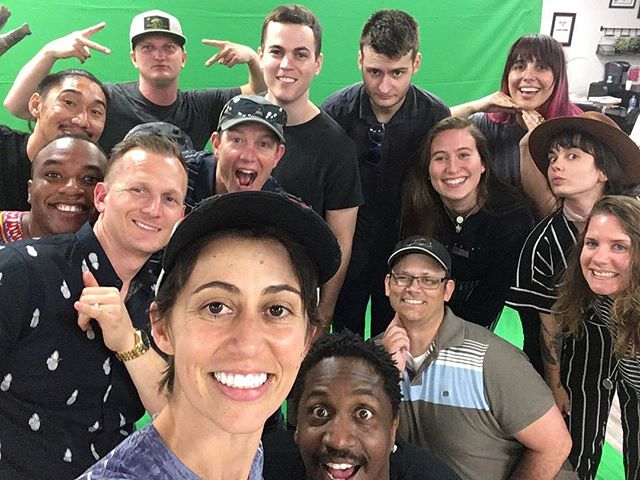 What a team. The fun never stops at #lifeonsetseries