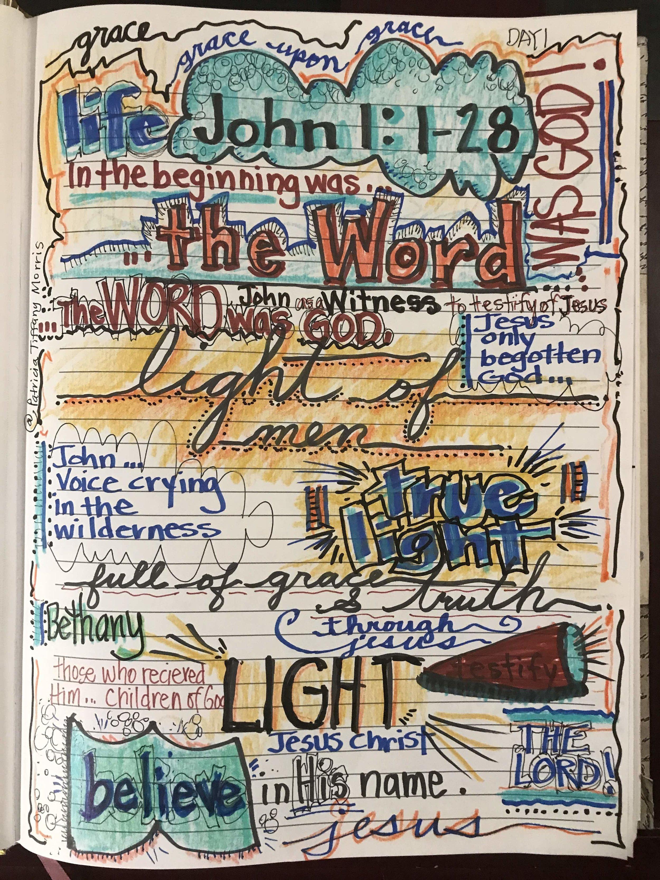 #precepts #Biblestudy #gospelofjohn #jesusjournaljunkies #wordofgod #sonofgod #graceupongrace