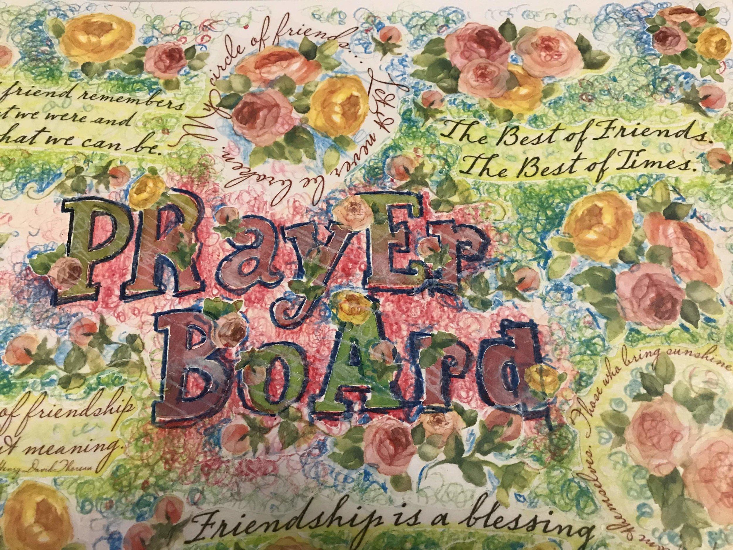 Prayer Board Soulcare 4 artsy Patricia Tiffany Morris.jpg