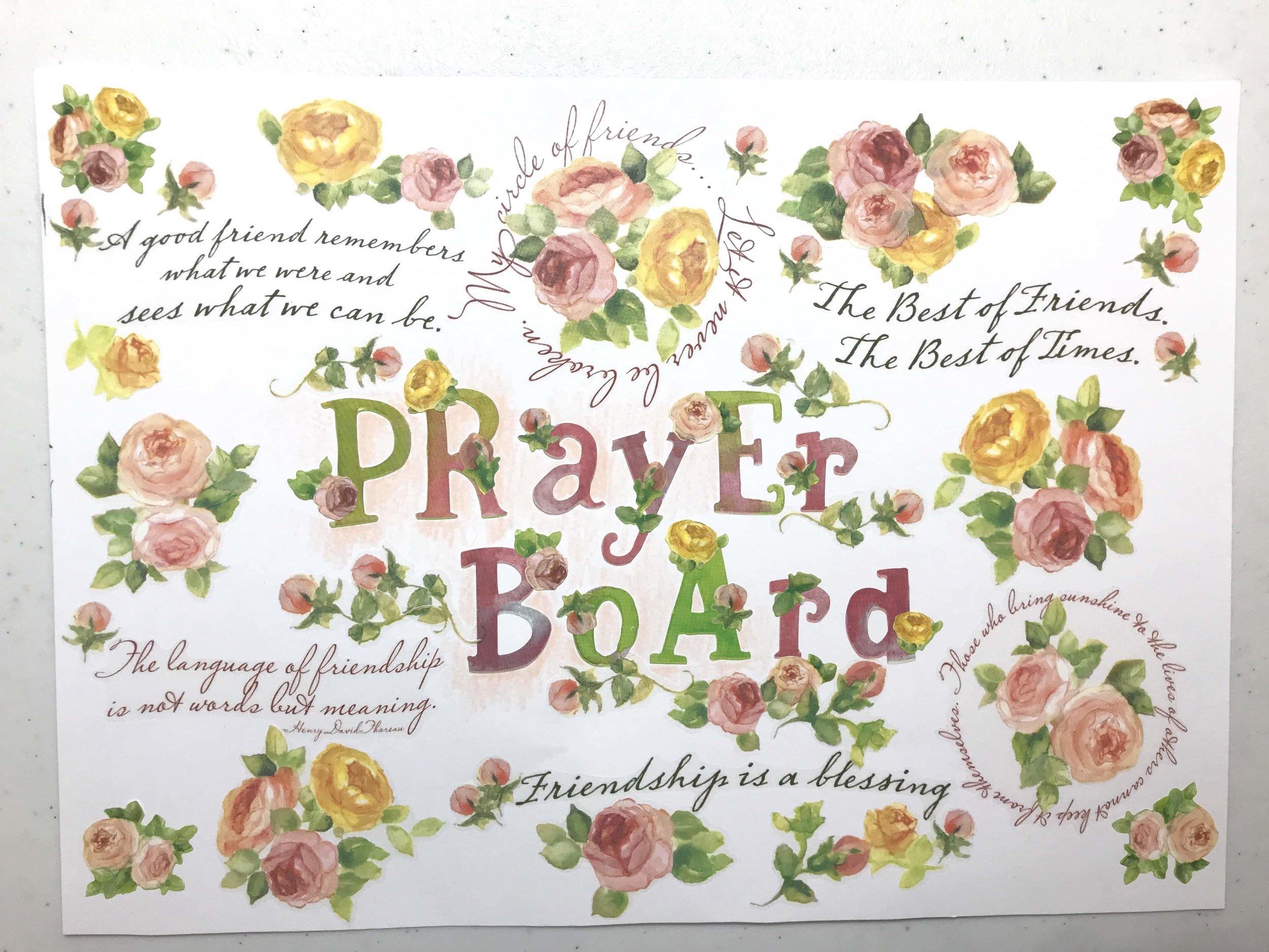Prayer Board Soulcare artsy Patricia Tiffany Morris.jpg