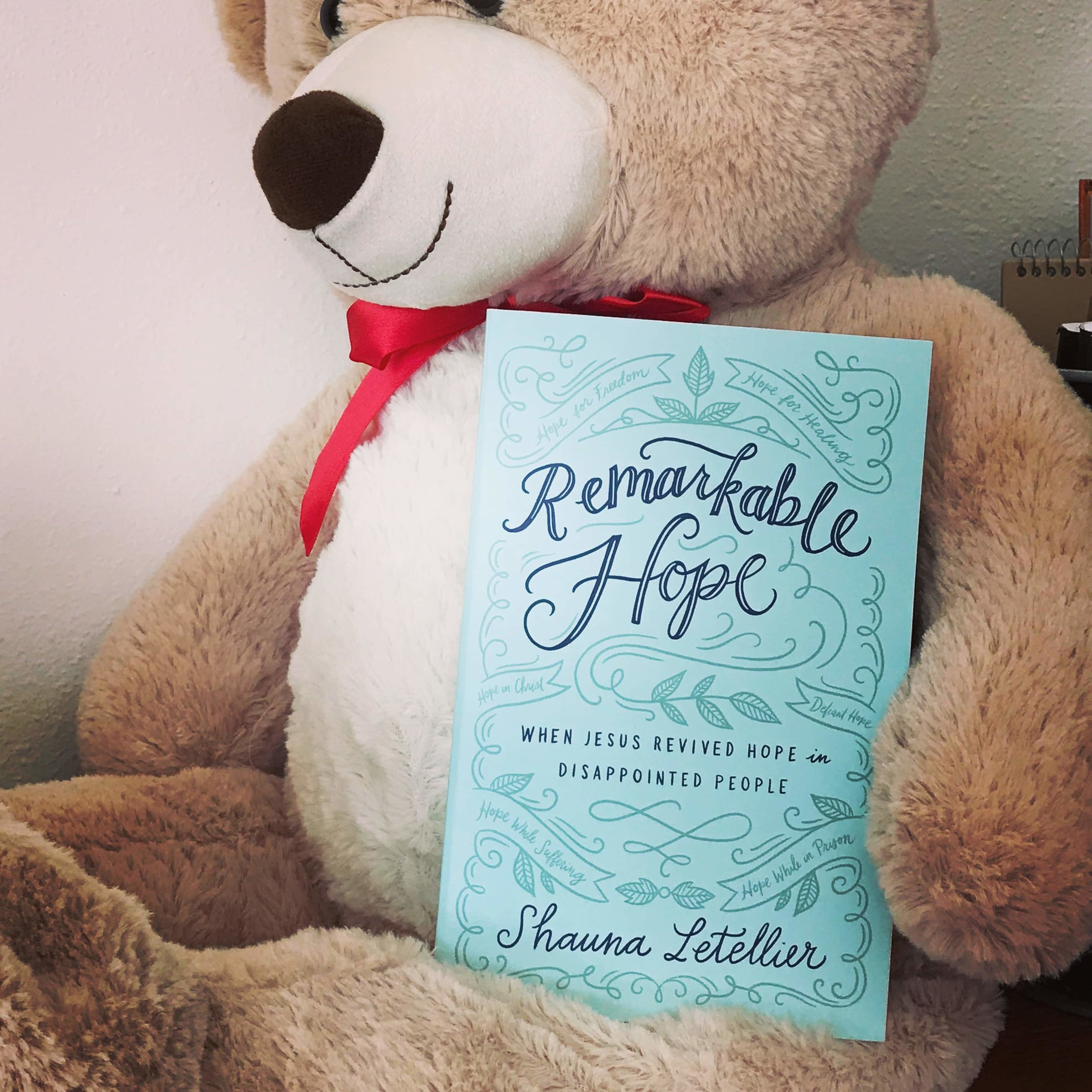 Remarkable Hope by Shauna Letellier  Photo by Patricia Tiffany Morris  Click on the photo above to go to Amazon