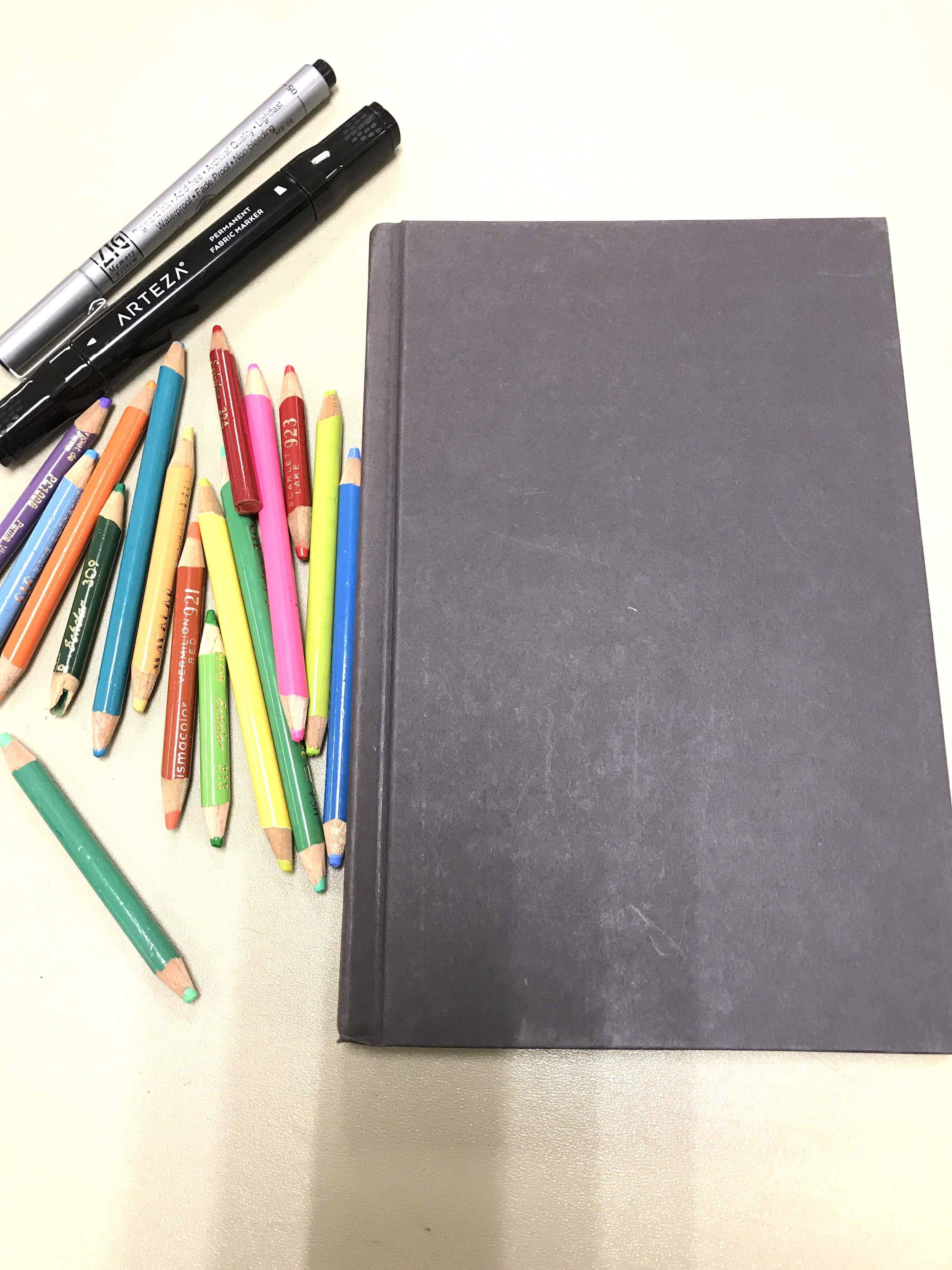 2019 Bullet Journal notebook  cover bujo planner Patricia Tiffany Morris.jpg
