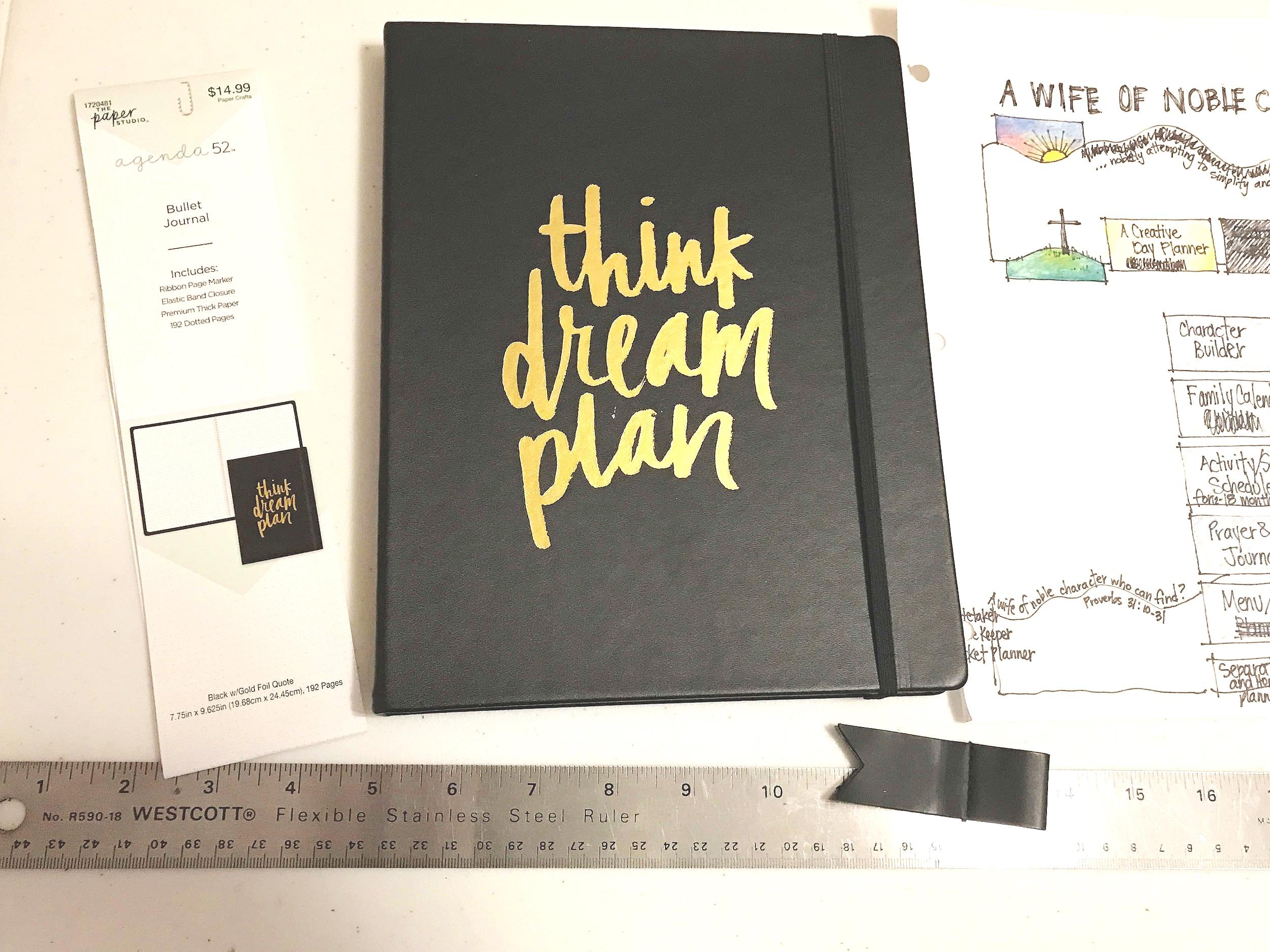 2019 Bullet Journal notebook  planner cover bujo intentional Patricia Tiffany Morris.jpg