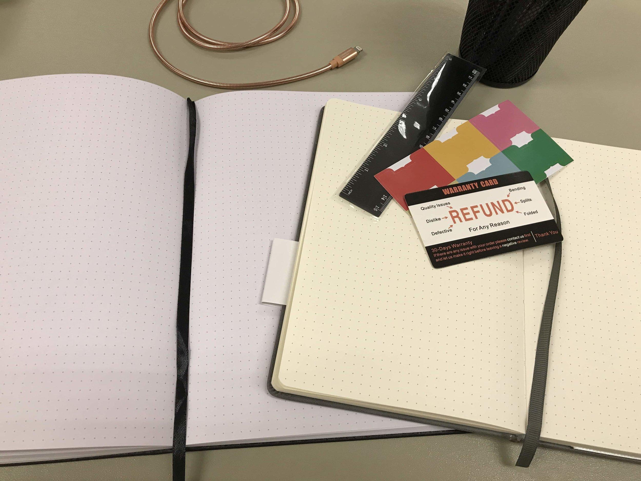 2019 Bullet Journal notebook Hashtags bujo planner Patricia Tiffany Morris.jpg