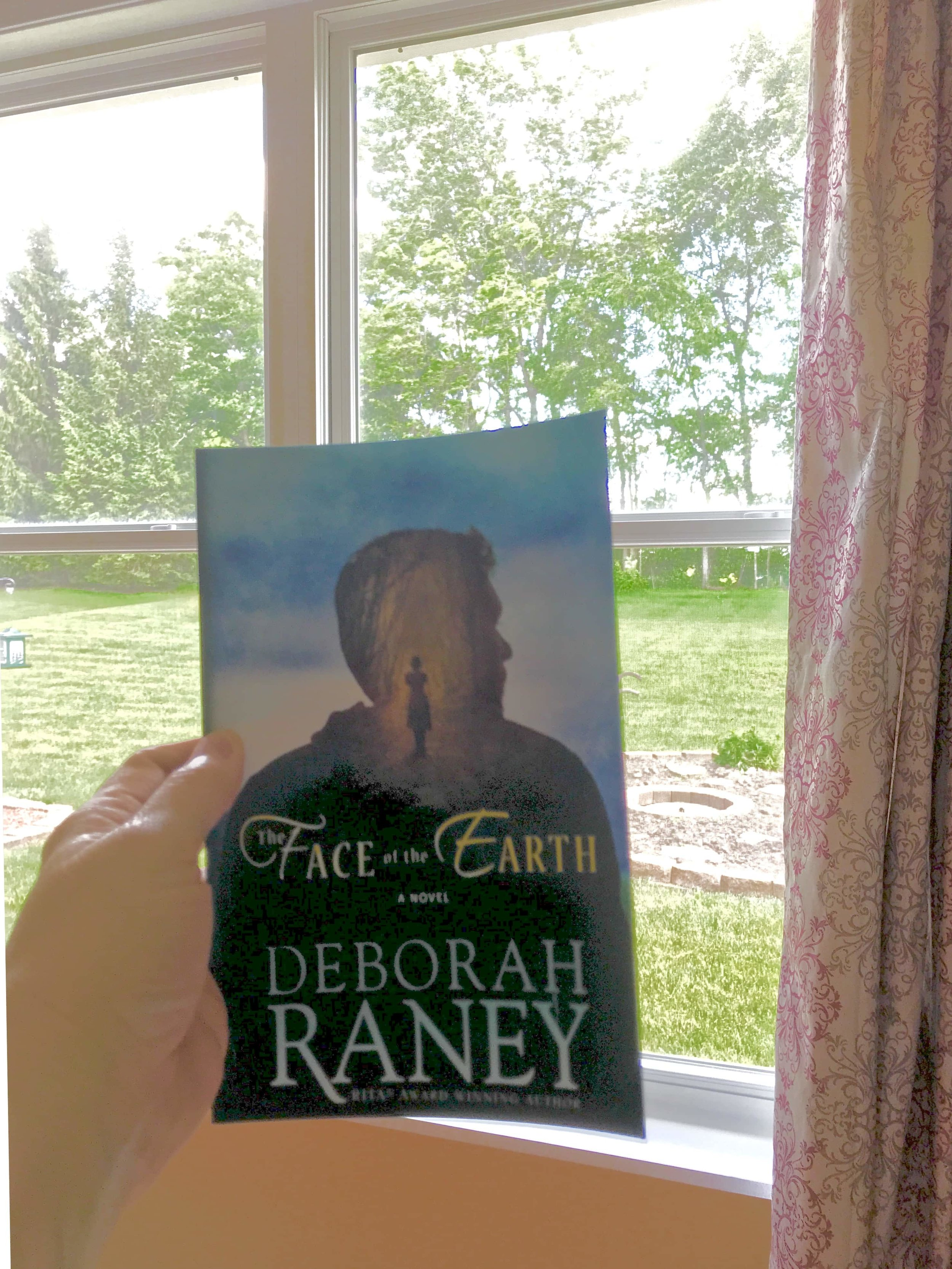 Click on the photo above to view the author's website in a separate window.   The Face of the Earth  by Deborah Raney. Fiction Book Review and photo by Patricia Tiffany Morris