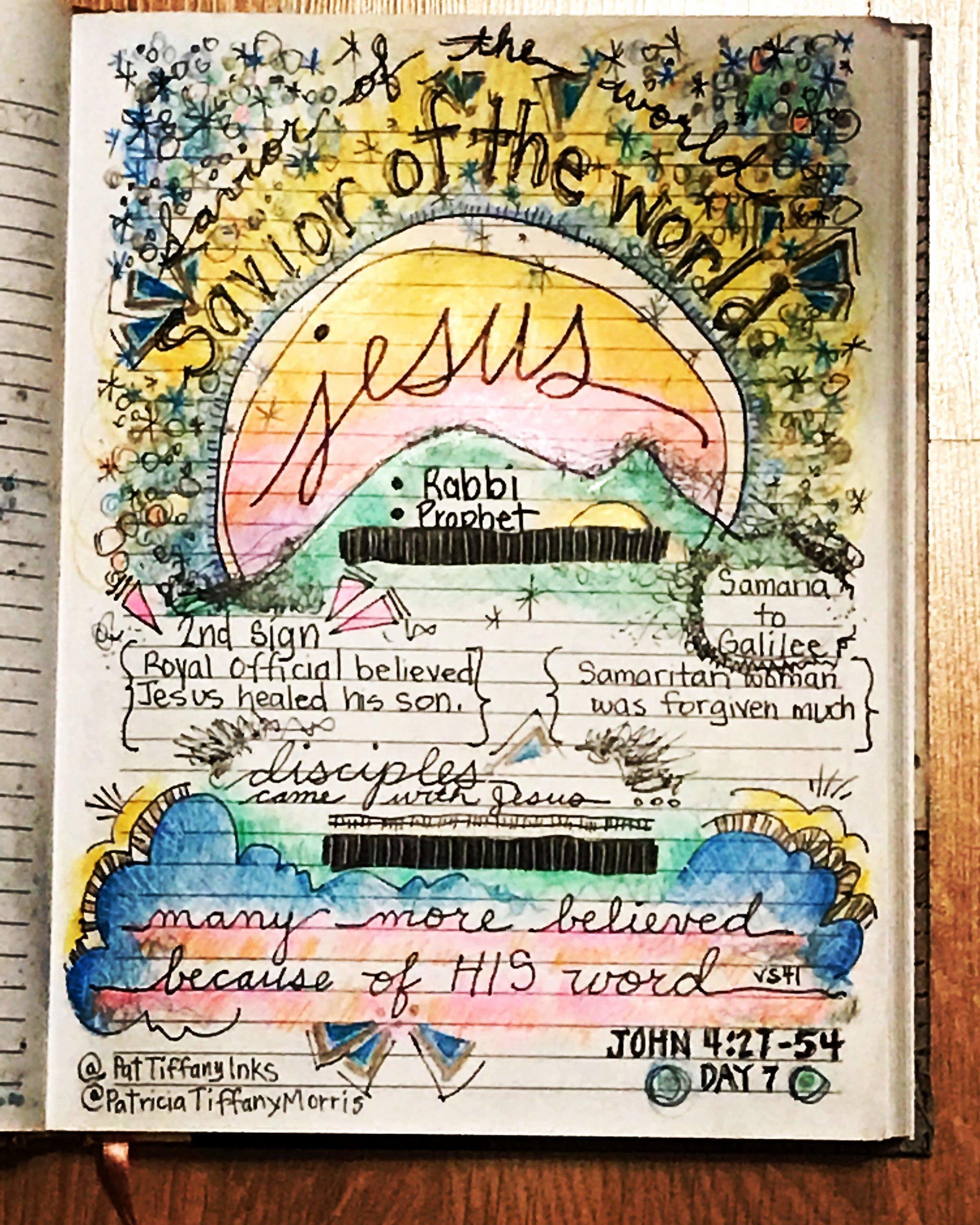 #christiancreative #biblescripture #biblejournaling #illustratedjournal #patriciatiffanymorriswriter