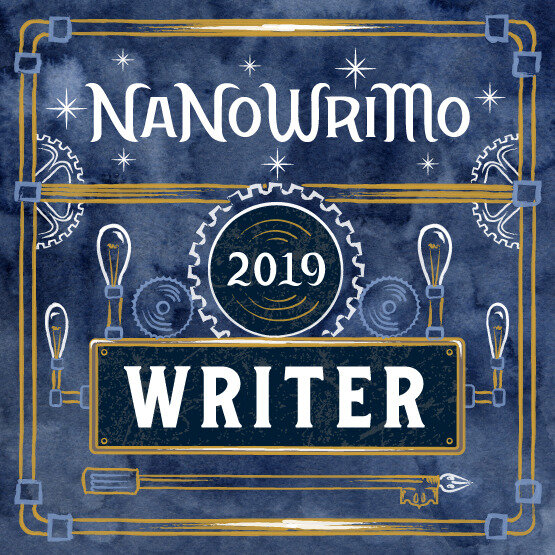 2019 November NaNoWriMo banner