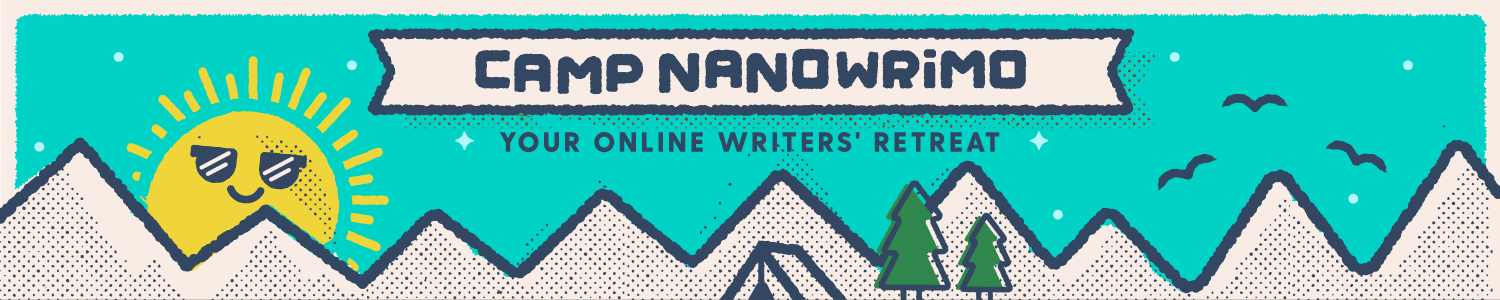 2019 Camp NaNoWriMo event in JULY
