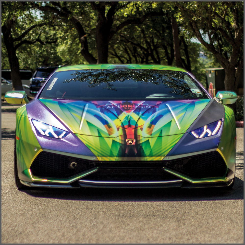 PGNOLA Lamborghini Wrap Lowrider Wrap