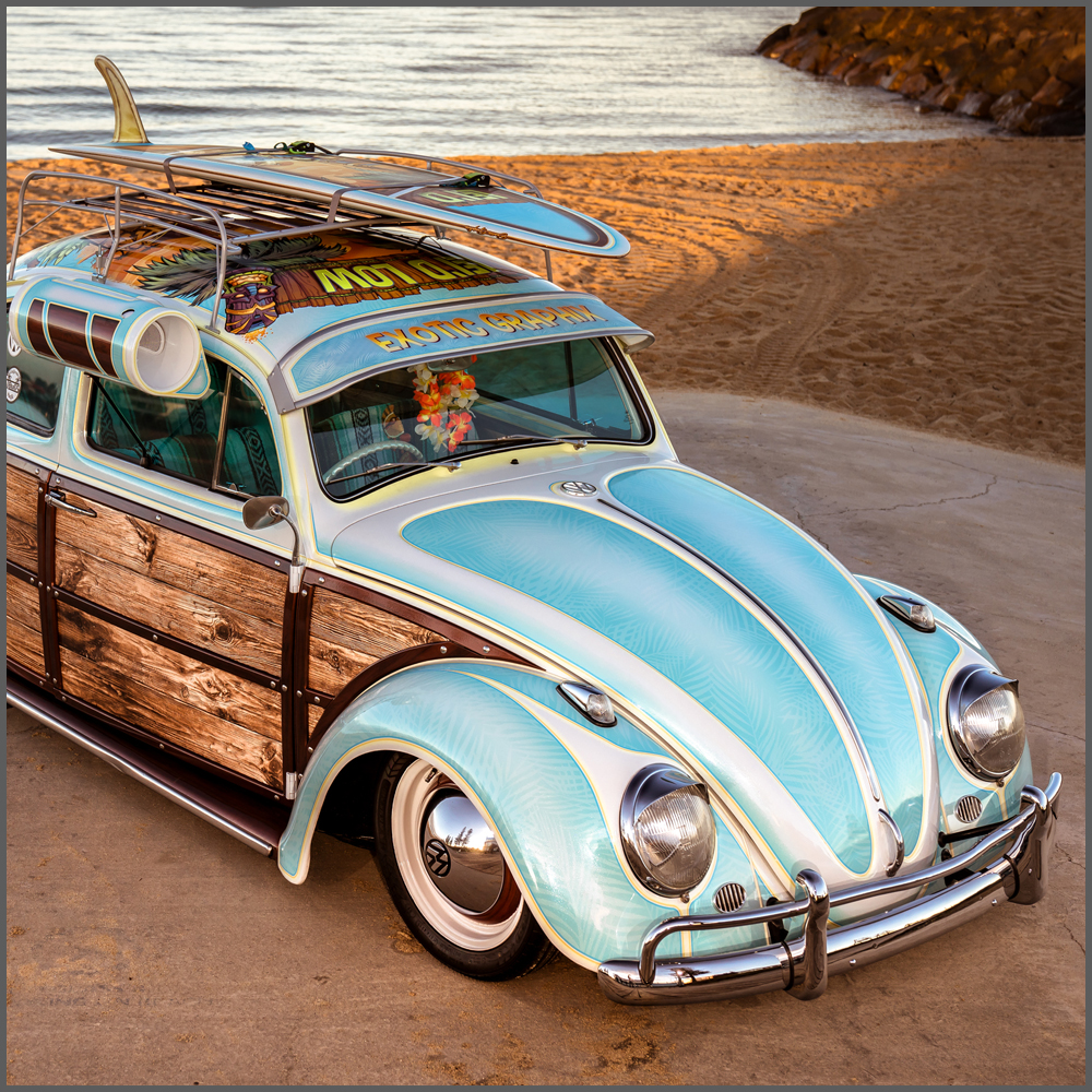Exotic Graphix VW Beetle Wrap