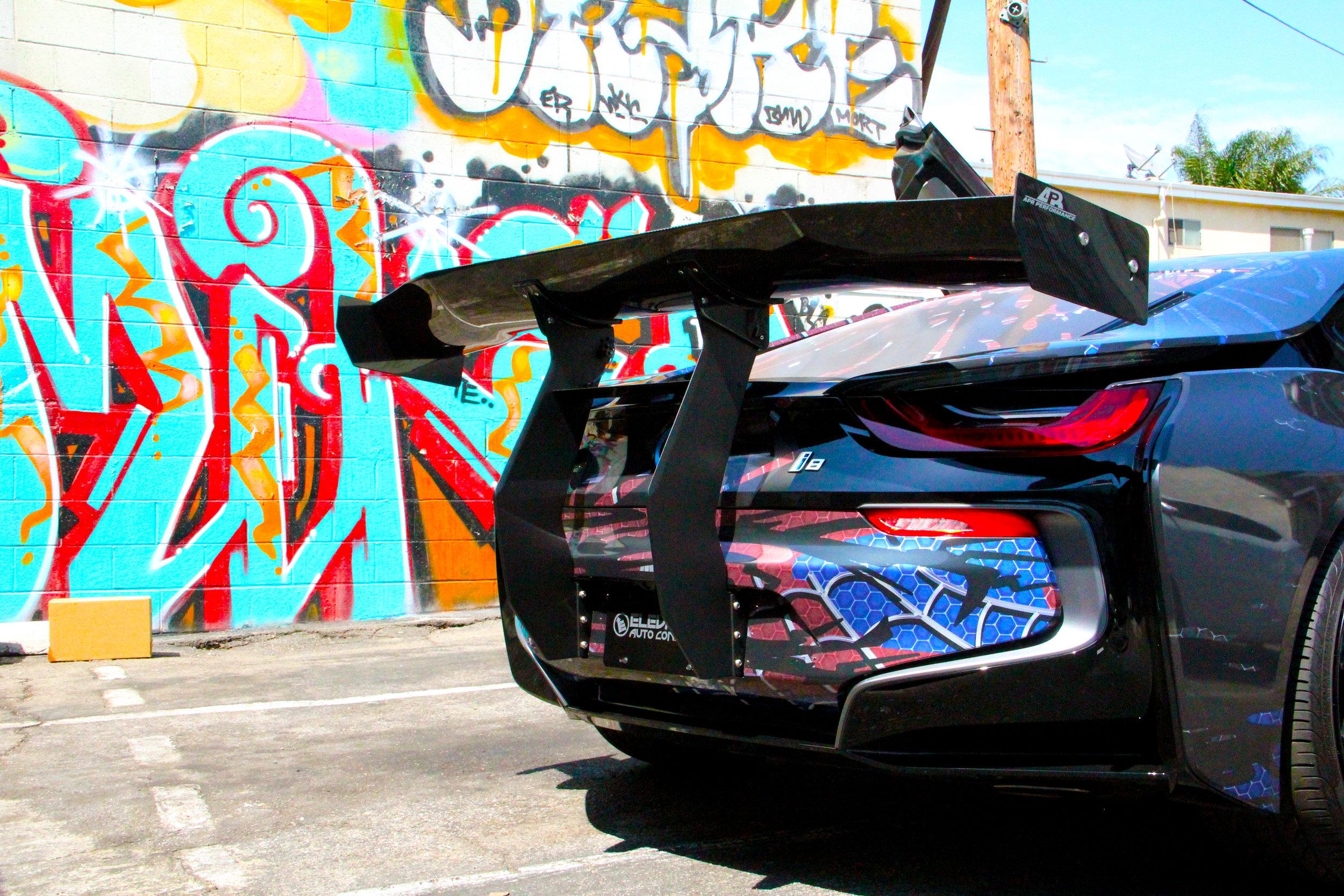 Wrap Venom Bmw I8 Wrapero