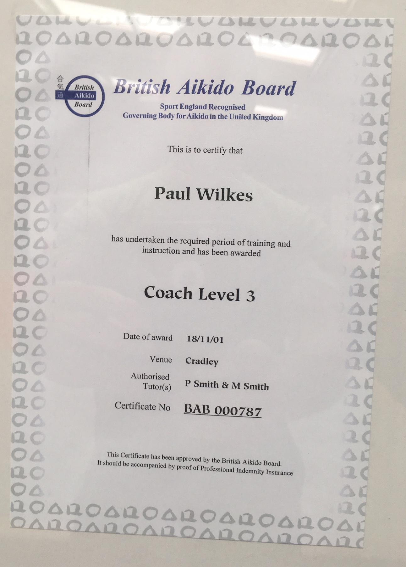 BAB Paul Wilkes Coach 3