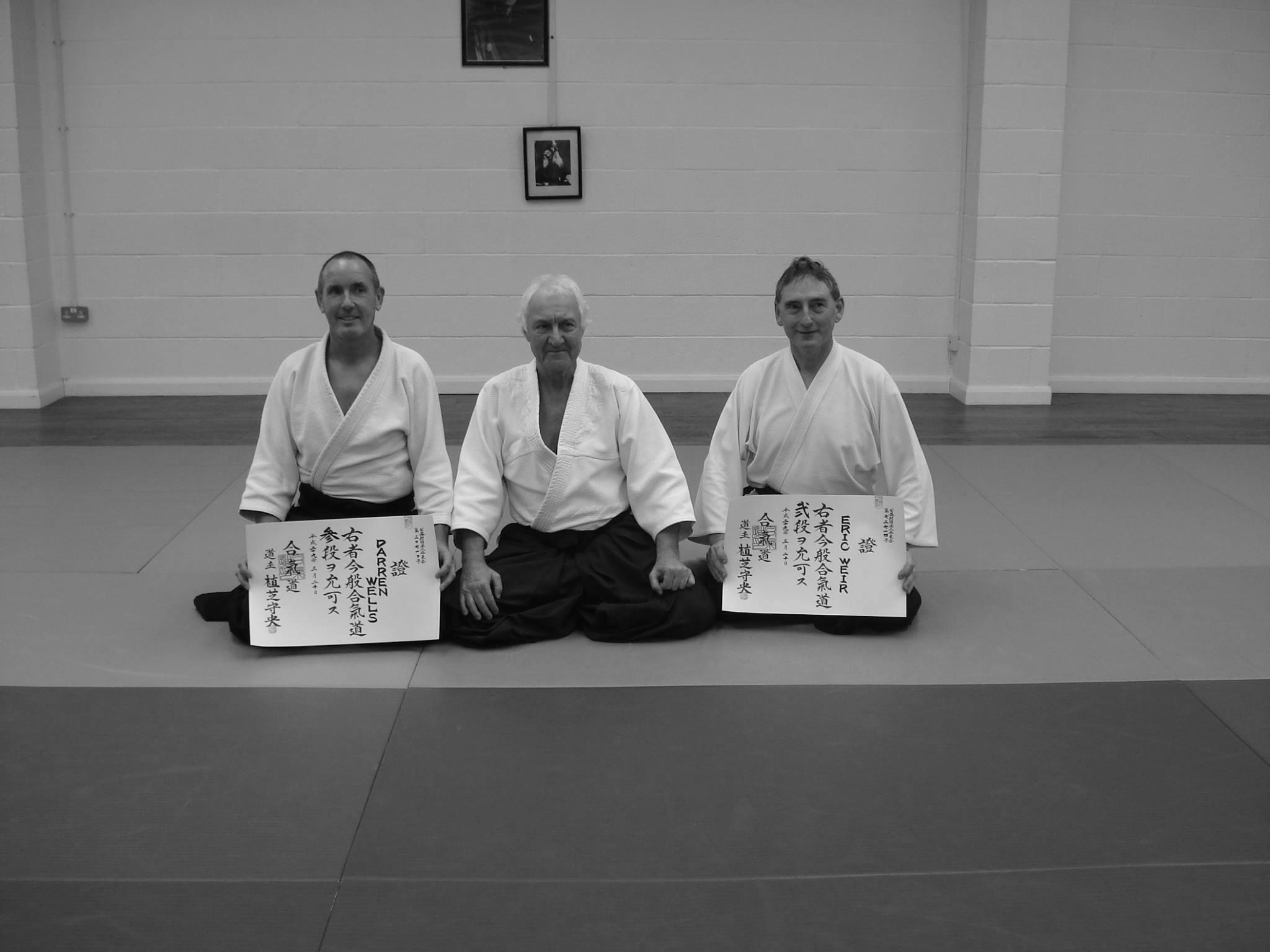 Hombu Certificates