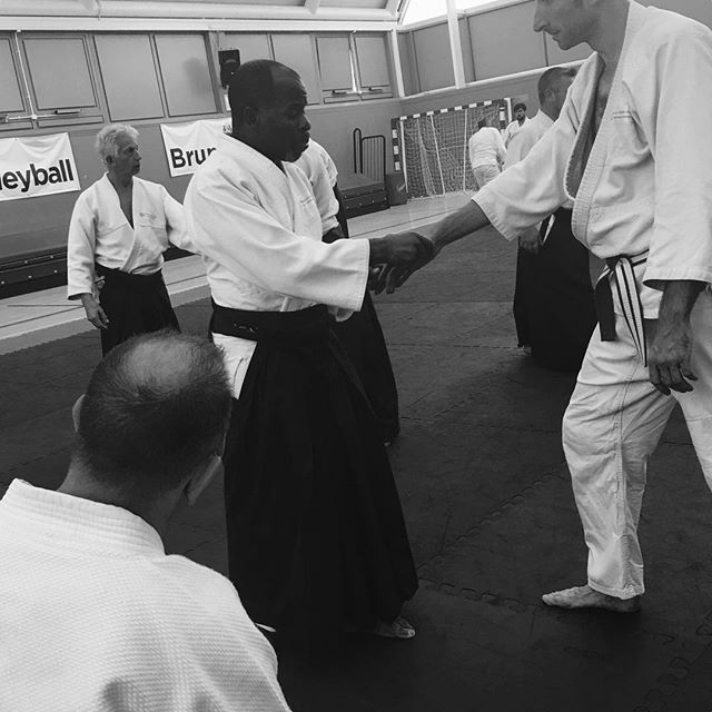 Patrick #aikido_aikikai #martialartslife #selfdefence #aikido #worcestershire