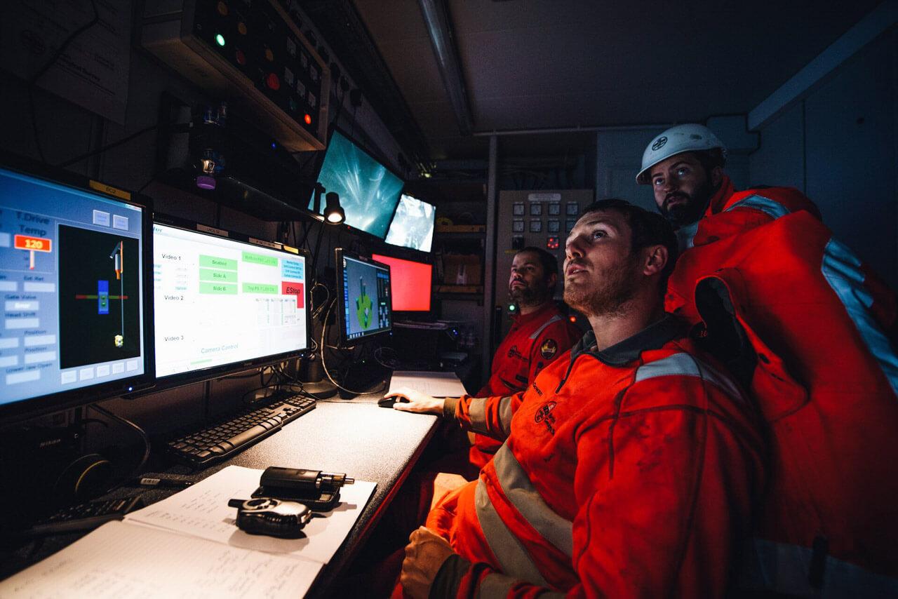 RD2 Control Room, RD2 Sea Trials, 2015.