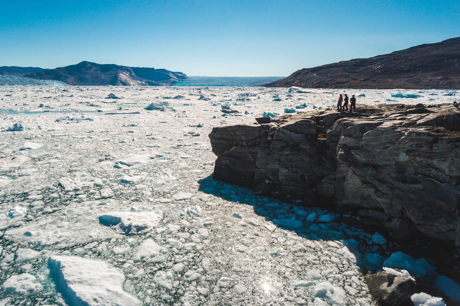 Kangiata Nunata Sermia, Greenland, 2016.