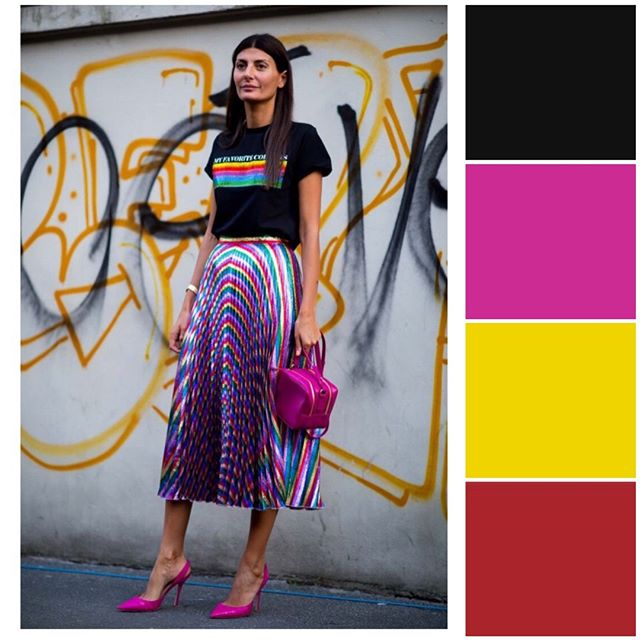 Have you ever thought of wearing these colors together to make your outfit pop out? This is a perfect summer combination for the classy ones who likes to add color. . #askastylist #askastylistme #colorcombo #fashionstyling #styling #dubai #riyadh