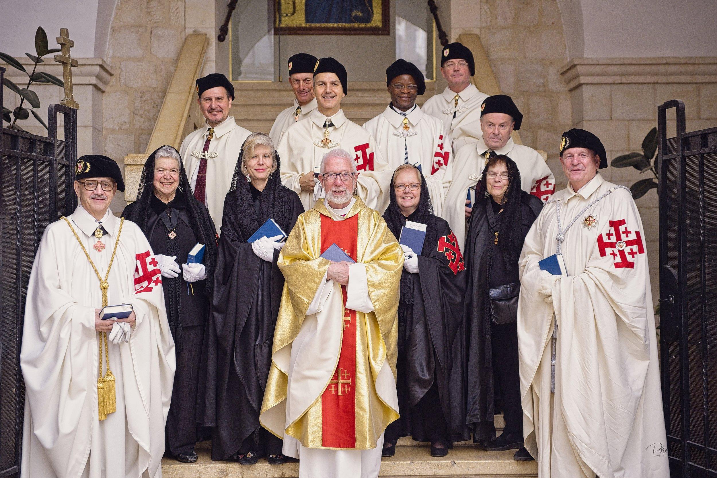 Ved Det Latinske Patriarkat i Jerusalem