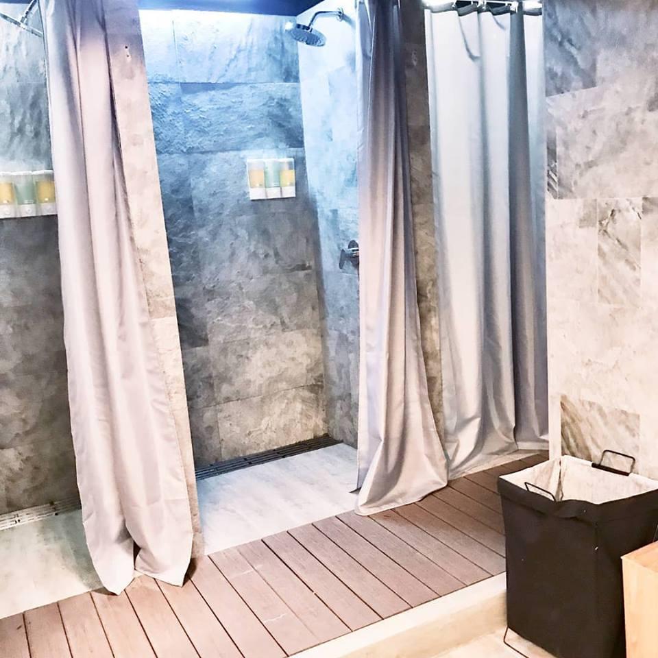 Female Shower Facilities