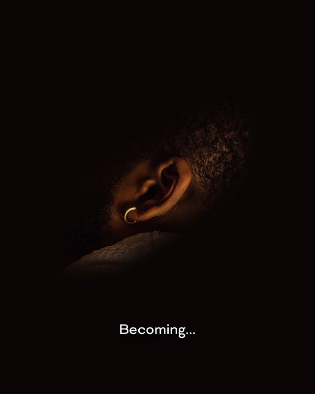 Becoming... New video  Link in bio
