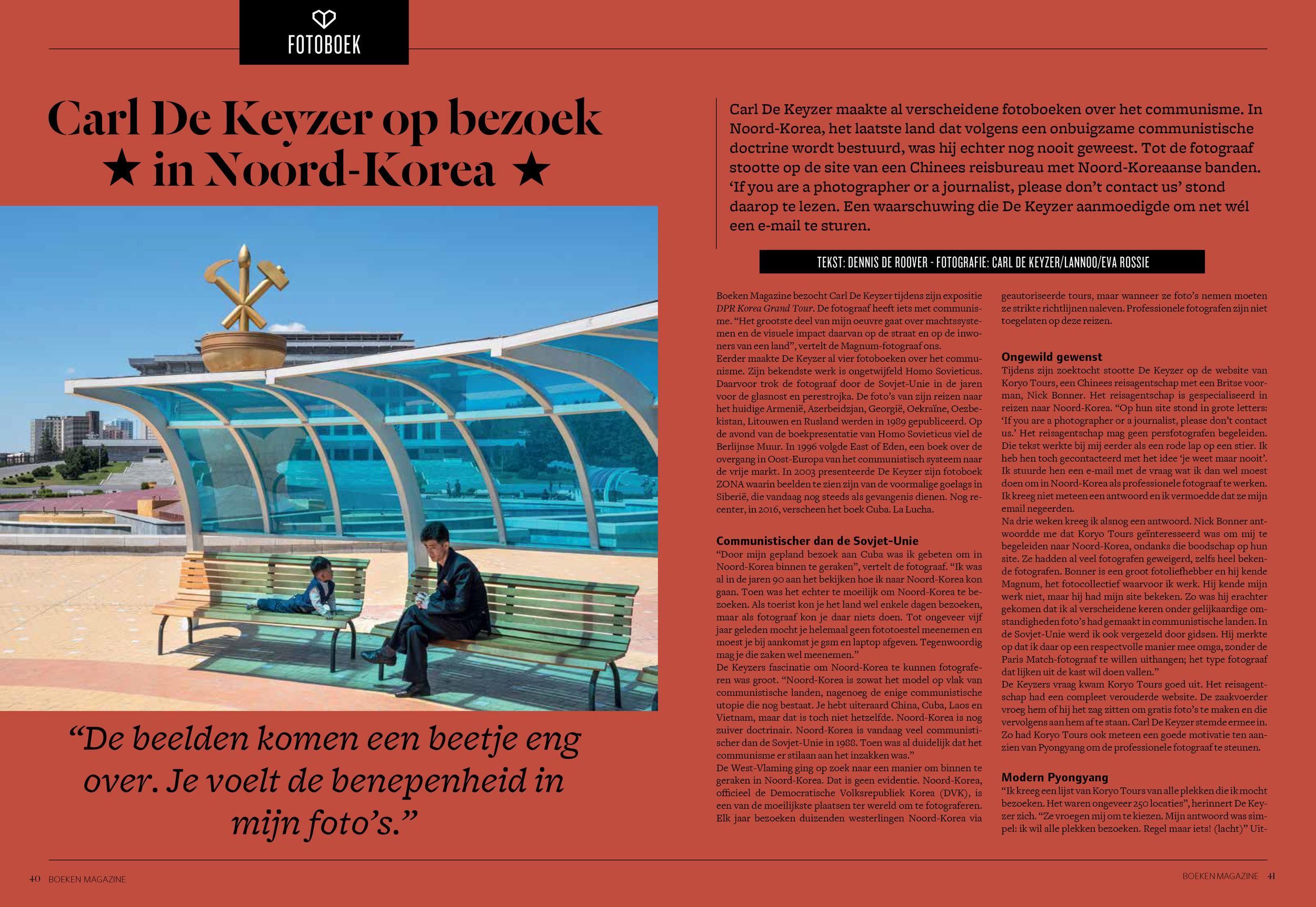 Boekenmagazine DPRK