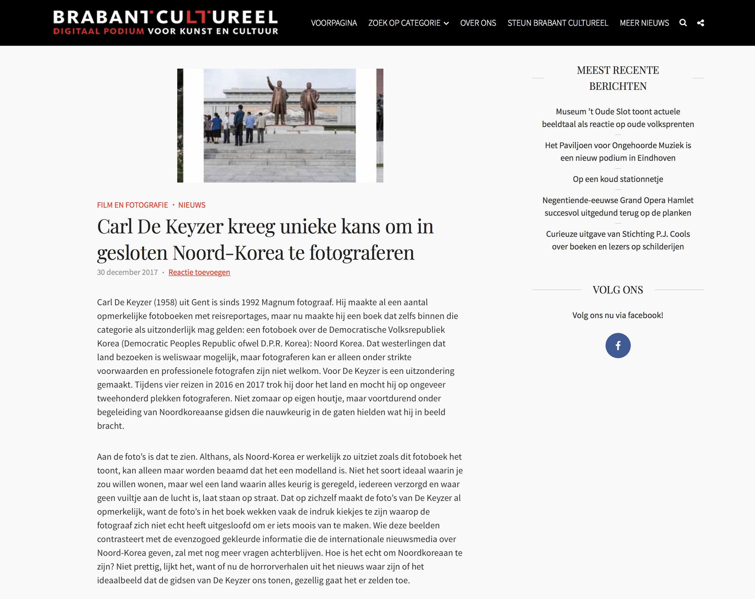 Brabant Cultureel DPRK
