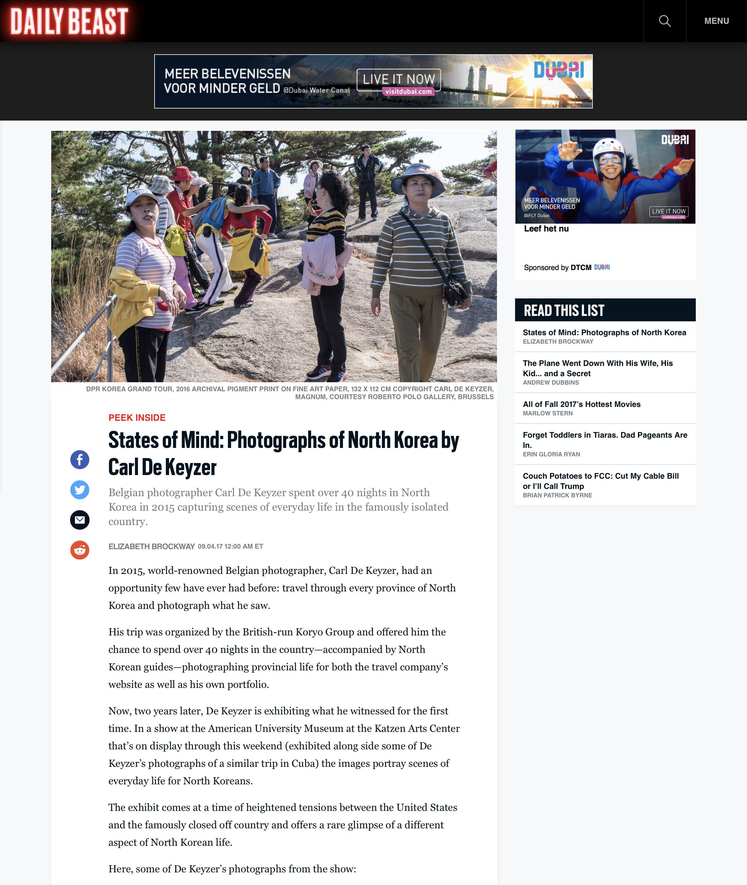 Daily Beast DPRK