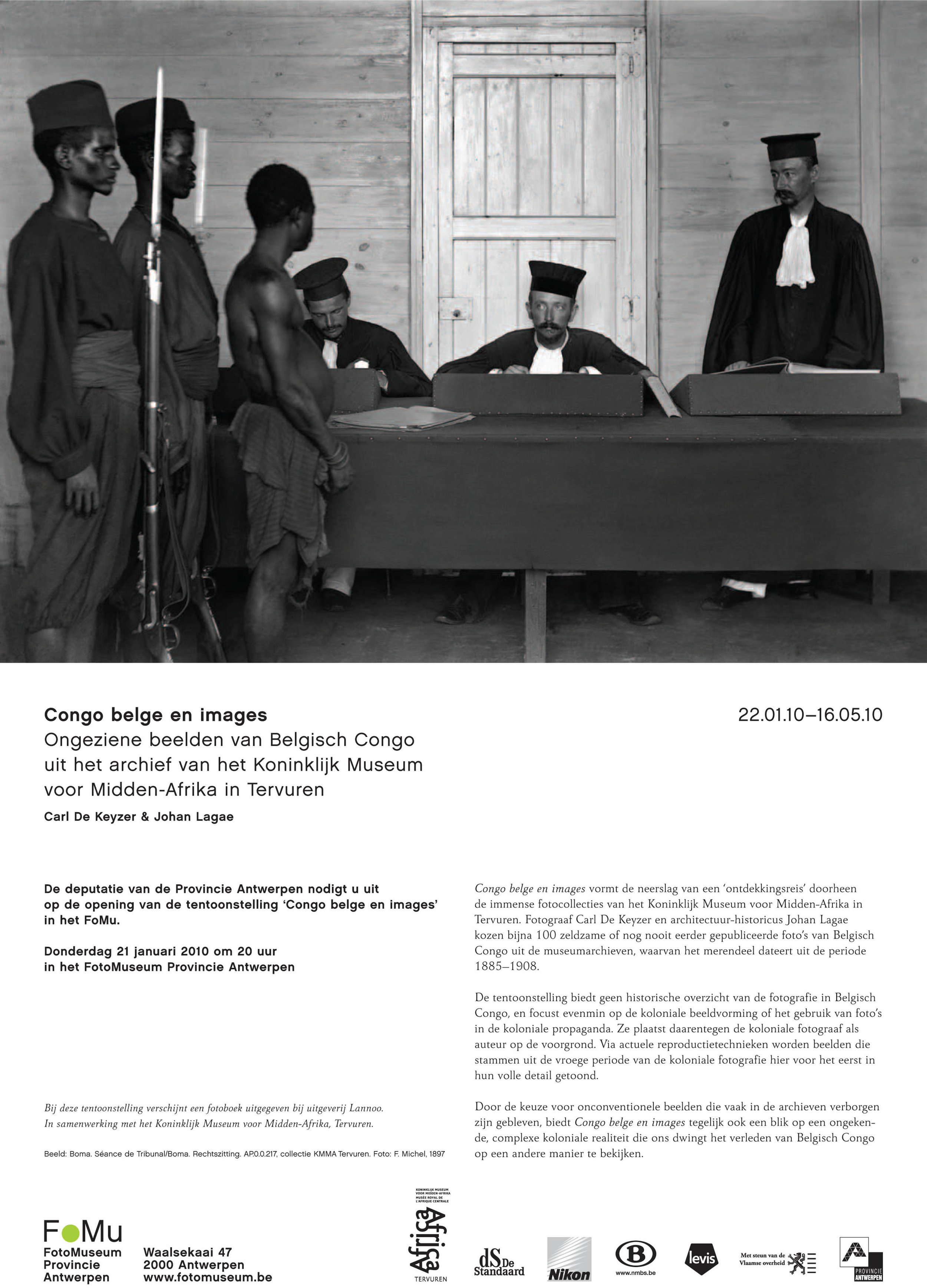 FoMu uitnodiging Congo belge en images_Carl De Keyzer en Johan Lagae.jpg