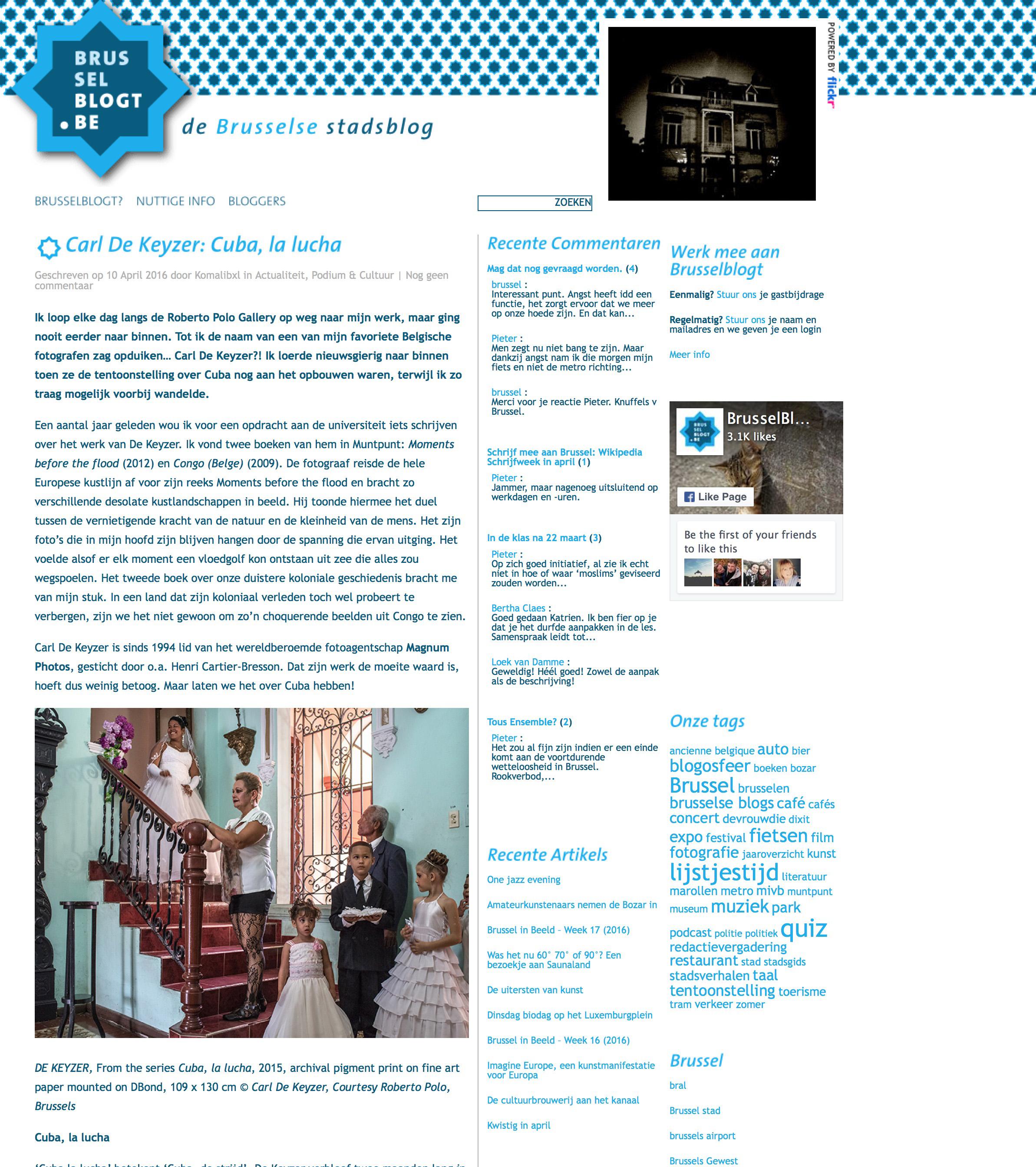 Cuba (Brussels blog)