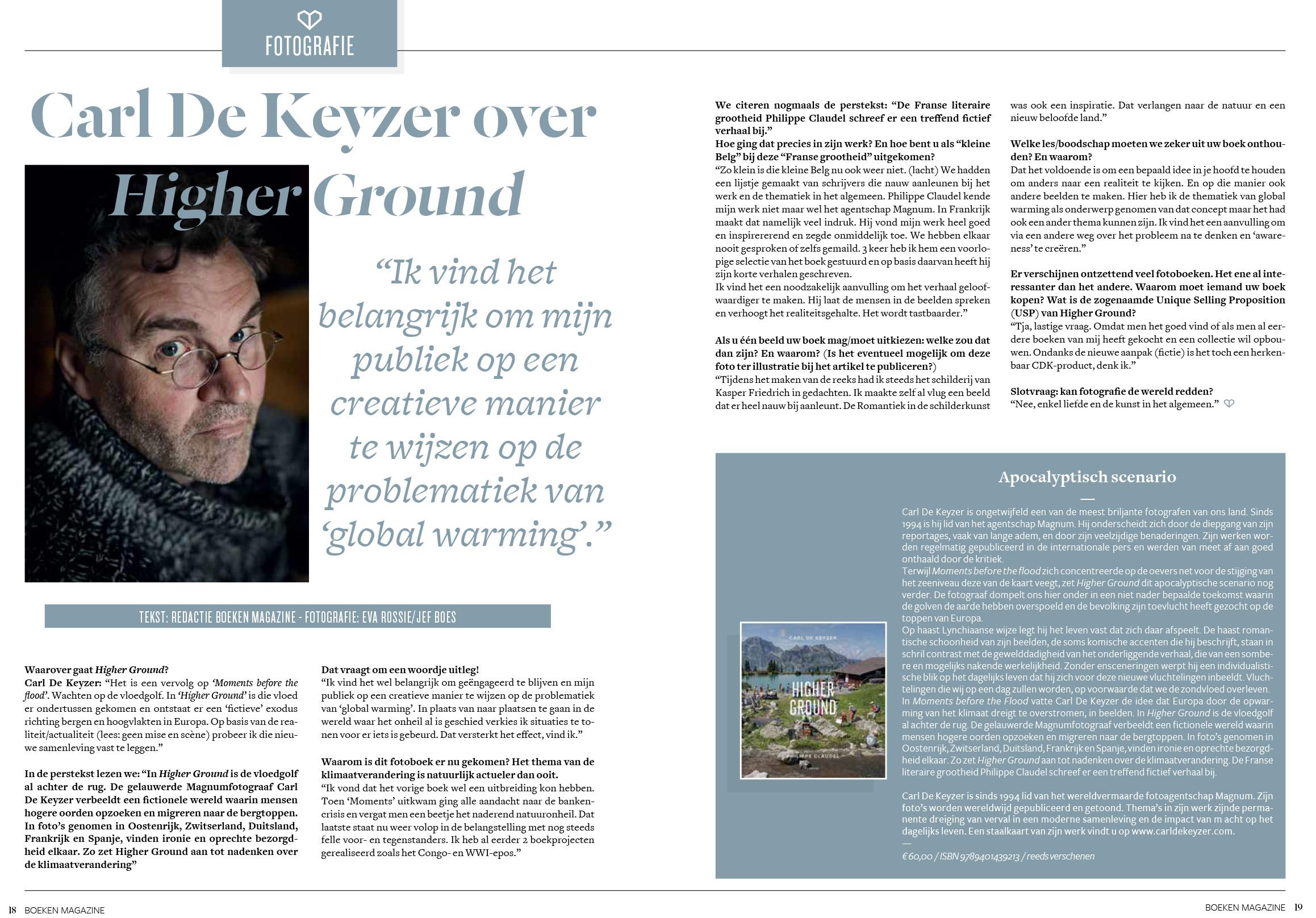 Boekenmagazine (Higher Ground)