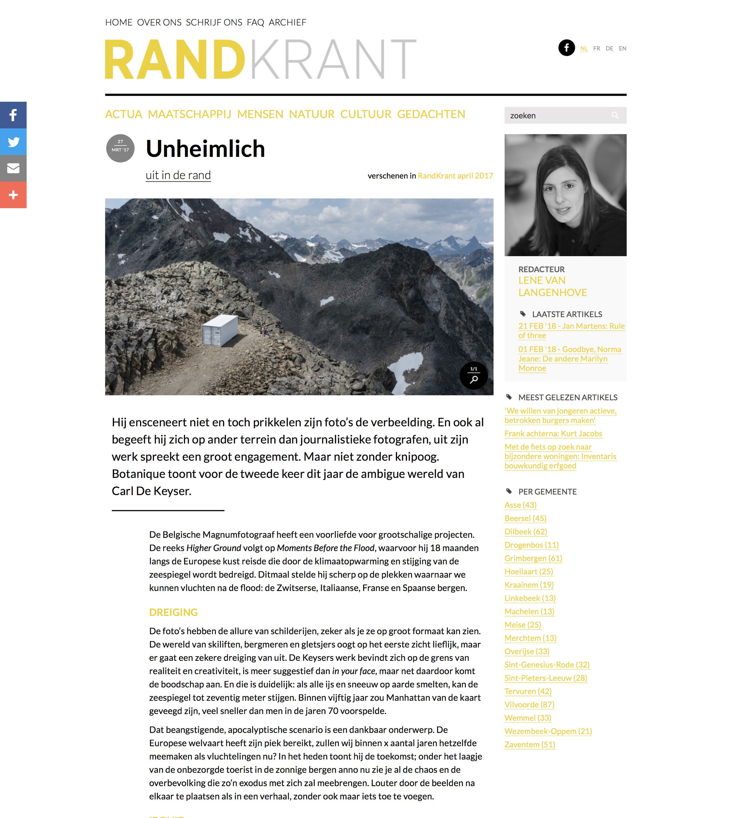 Randkrant (Higher Ground)