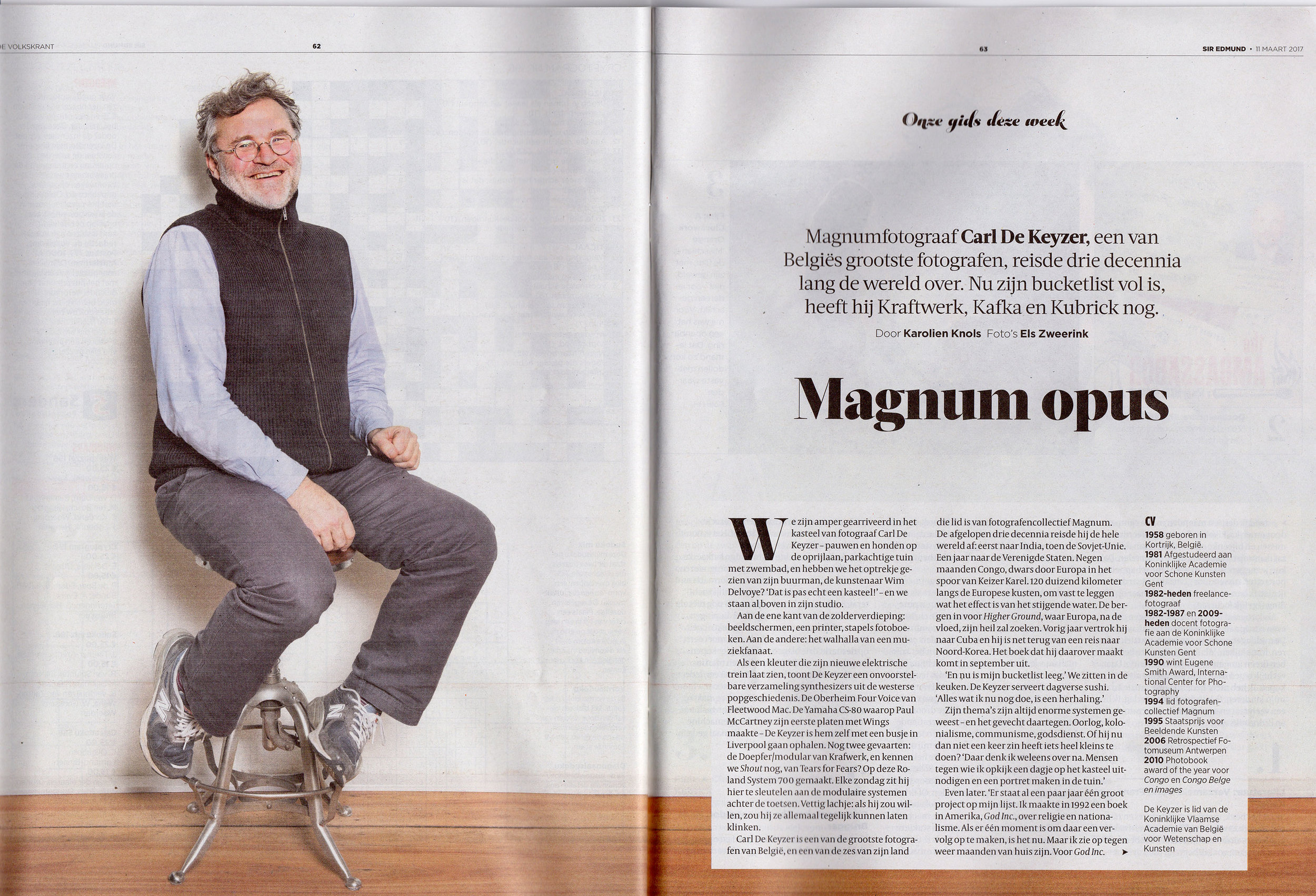 Sir Edmund De Volkskrant (Interview)
