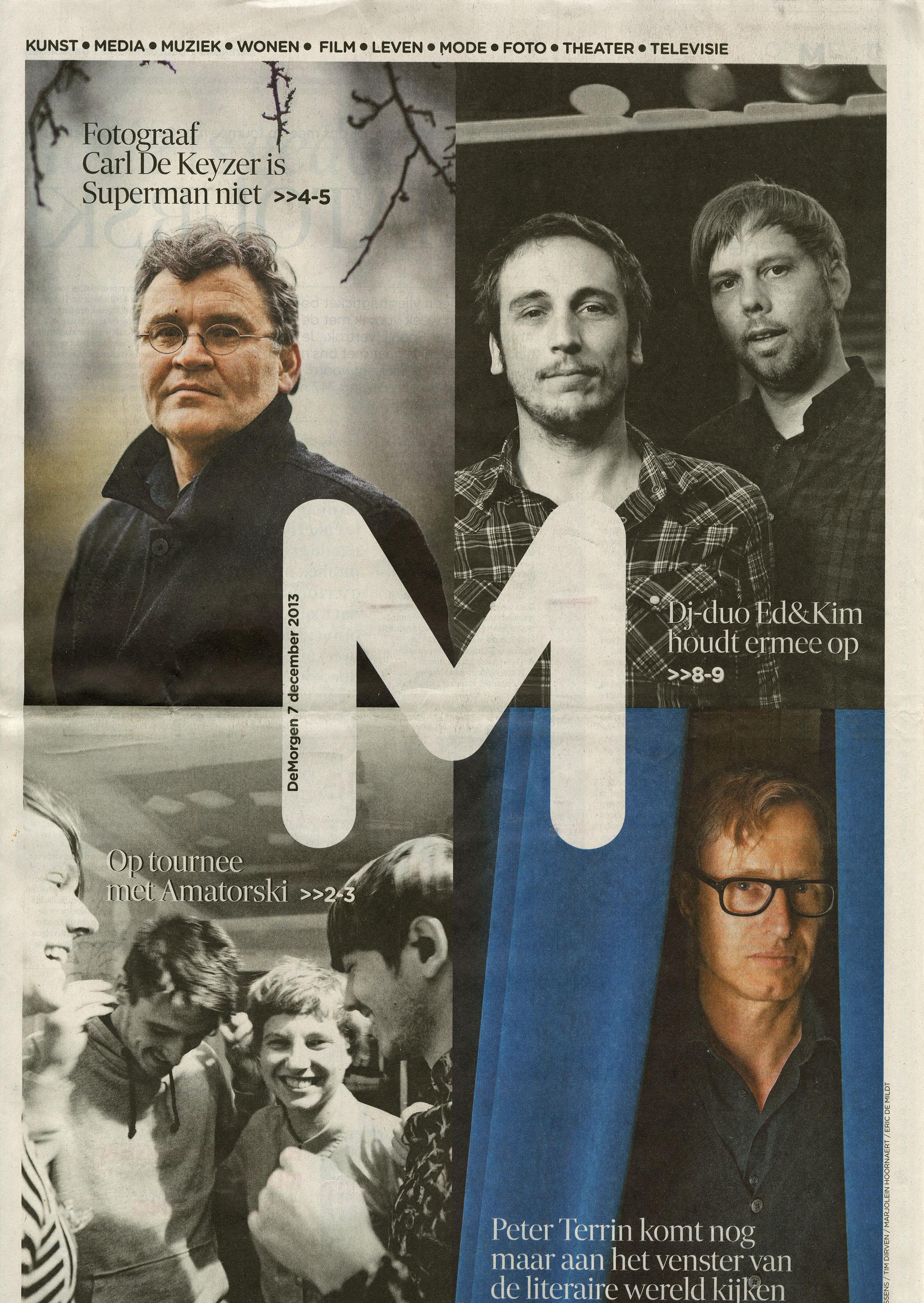 De Morgen (Interview)