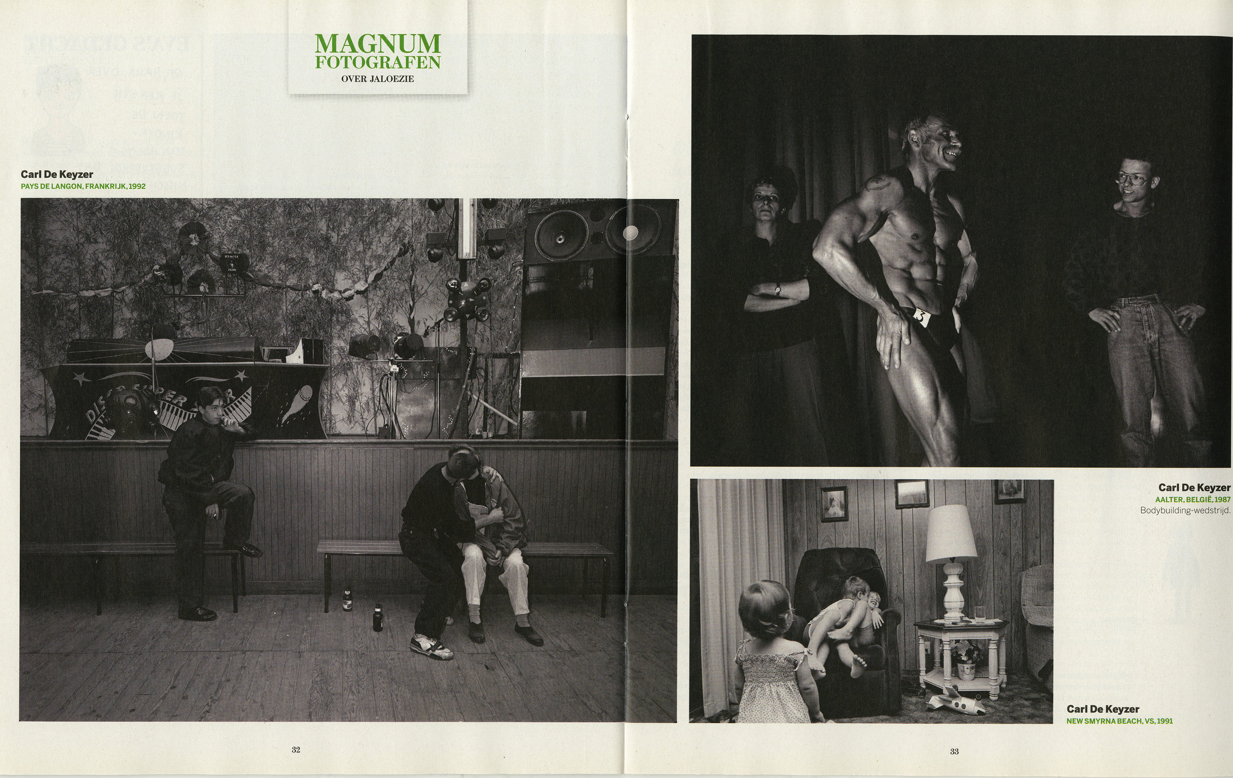 De Standaard (about 'jalousy' - Magnum)