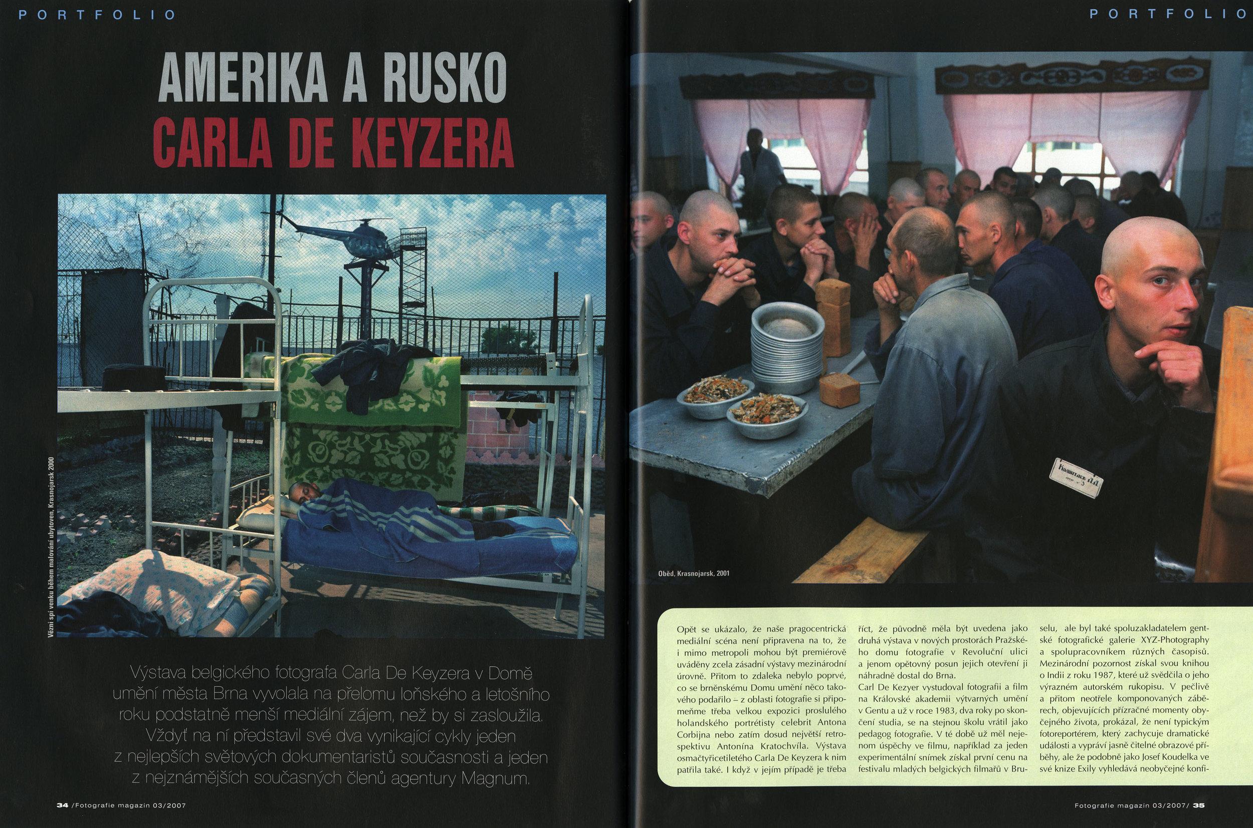 Fotografie Magazin (retro)
