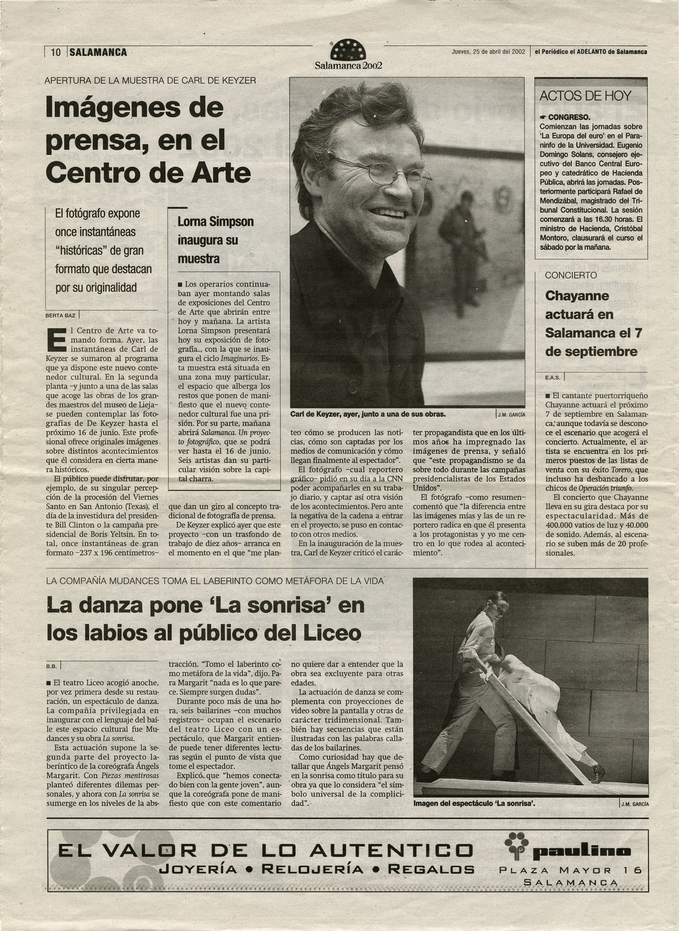 El Adelanto (Tableaux d'Histoire)