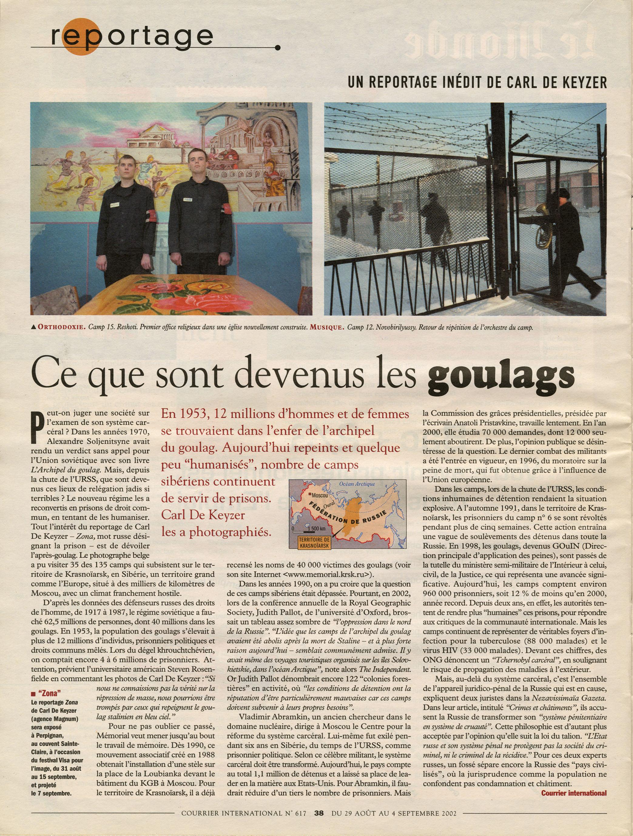 Courrier International (Zona)