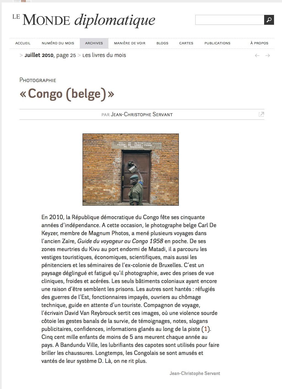 Le Monde Diplomatique (Congo)