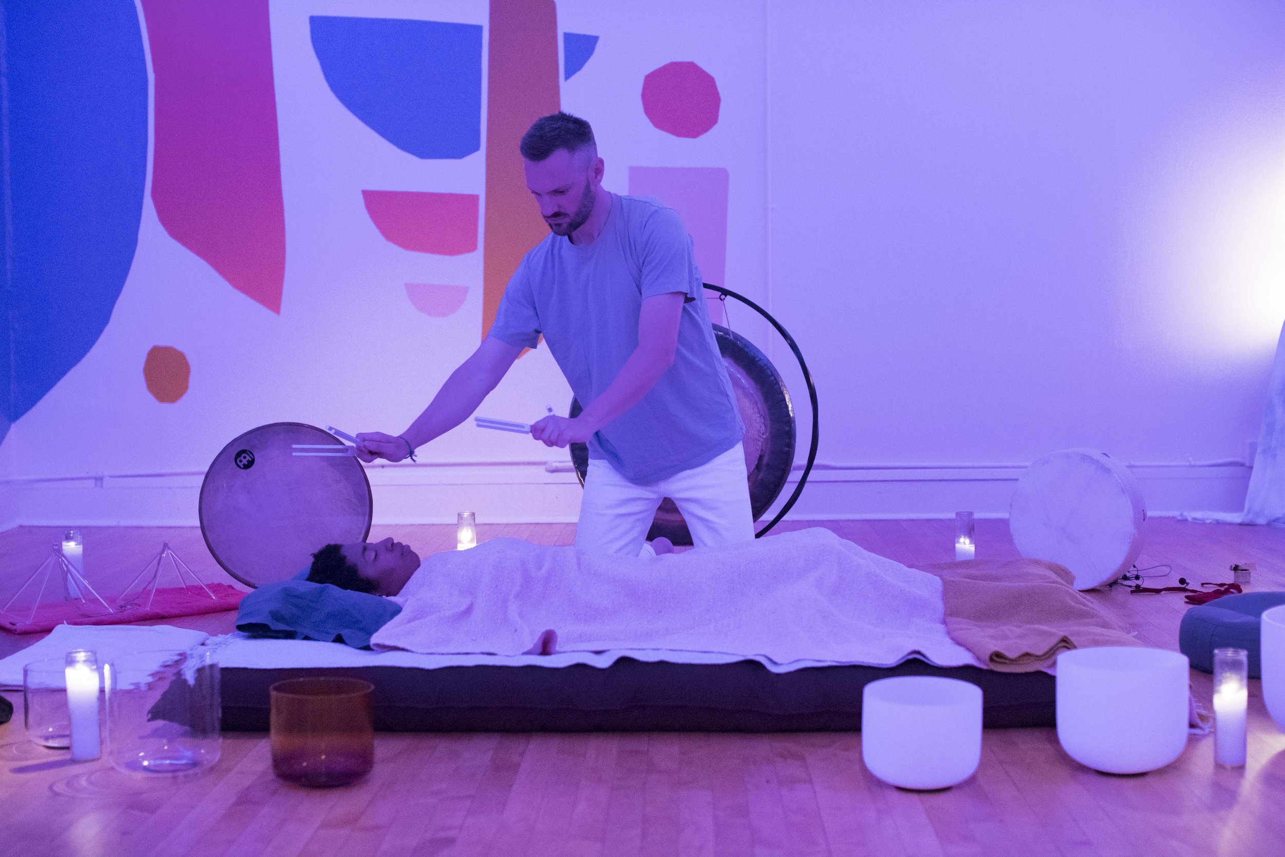Private Sound Healing Chicago