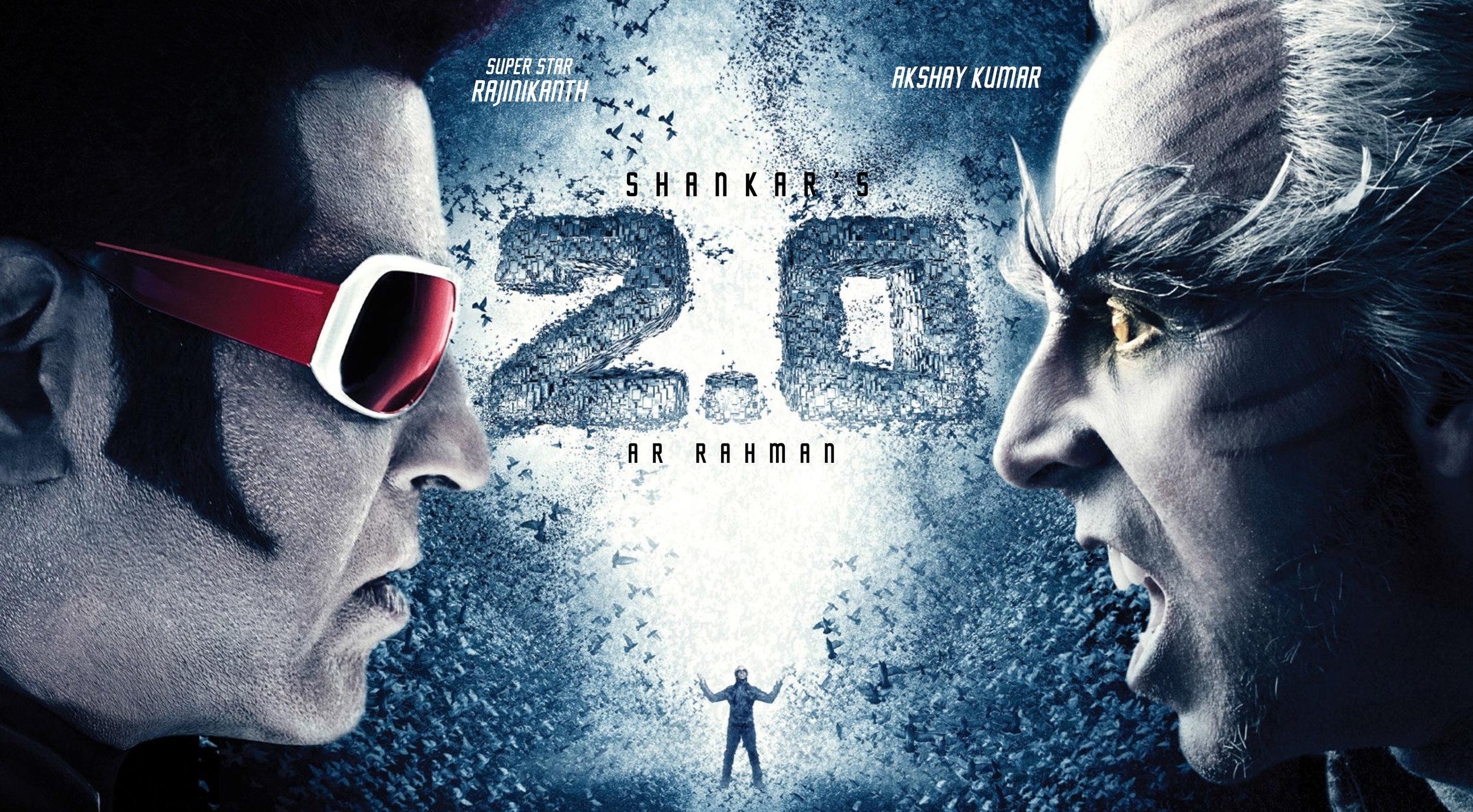 2.0    Credits:    Director  - S. Shankar   Productions  - Lyca Productions   Additional VFX  - Dark Cosmos Creative   VFX Supervisor  - Jeremy Hardin   Additional Compositing  - Elizabeth Boyle