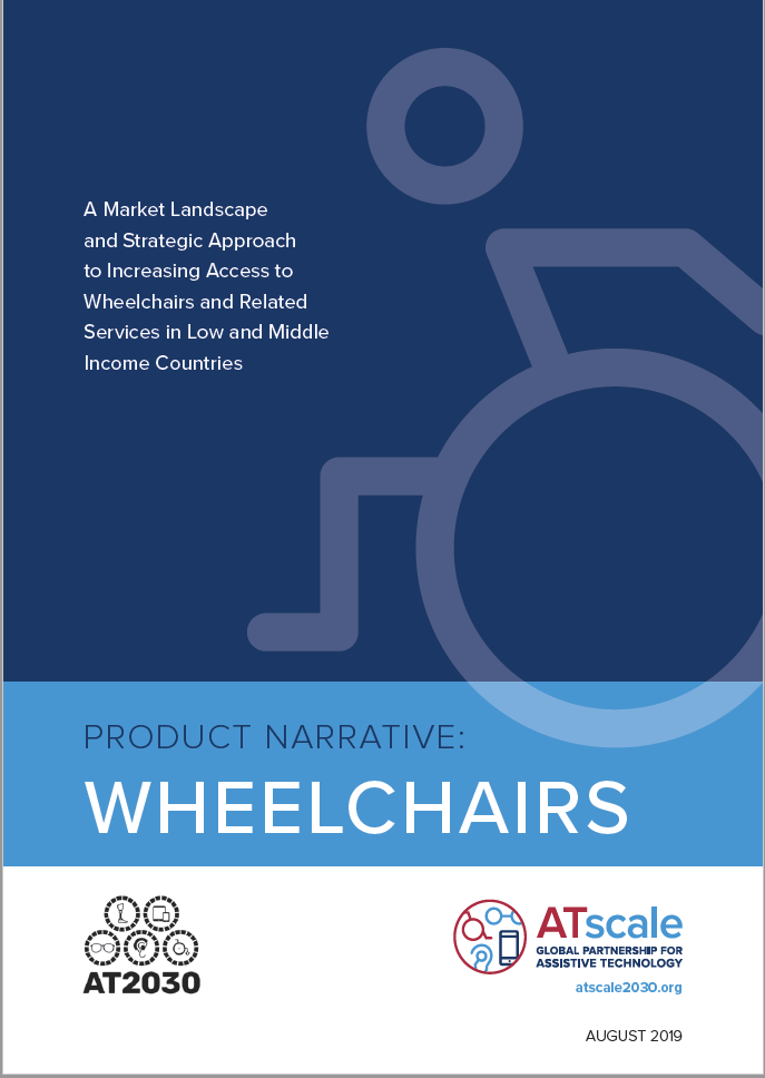 Image of Cover of Wheelchair Product Narrative