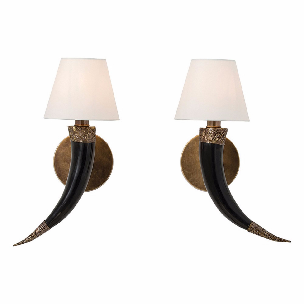 ARTERIORS Diana Sconces by Barry Dixon